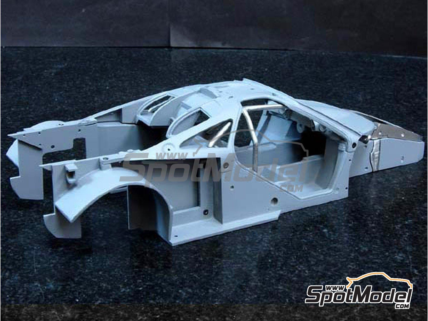 Image 7: McLaren F1 GTR Gulf - 24 Horas de Le Mans 1996 | Maqueta de coche en escala1/24 fabricado por Model Factory Hiro (ref.MFH-K361, tambien K-361)