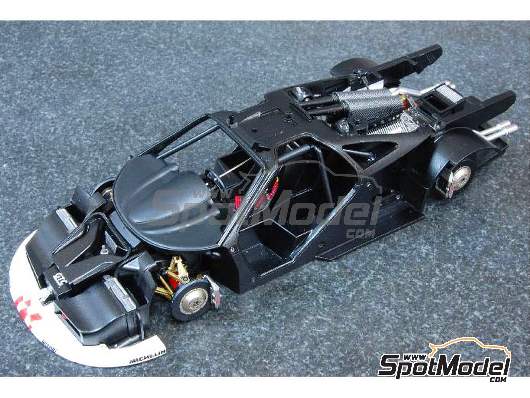 Image 1: McLaren F1 GTR  Long Tail Gulf Davidoff - 24 Horas de Le Mans 1997   Maqueta de coche en escala1/24 fabricado por Model Factory Hiro (ref.MFH-K376, tambien K-376)