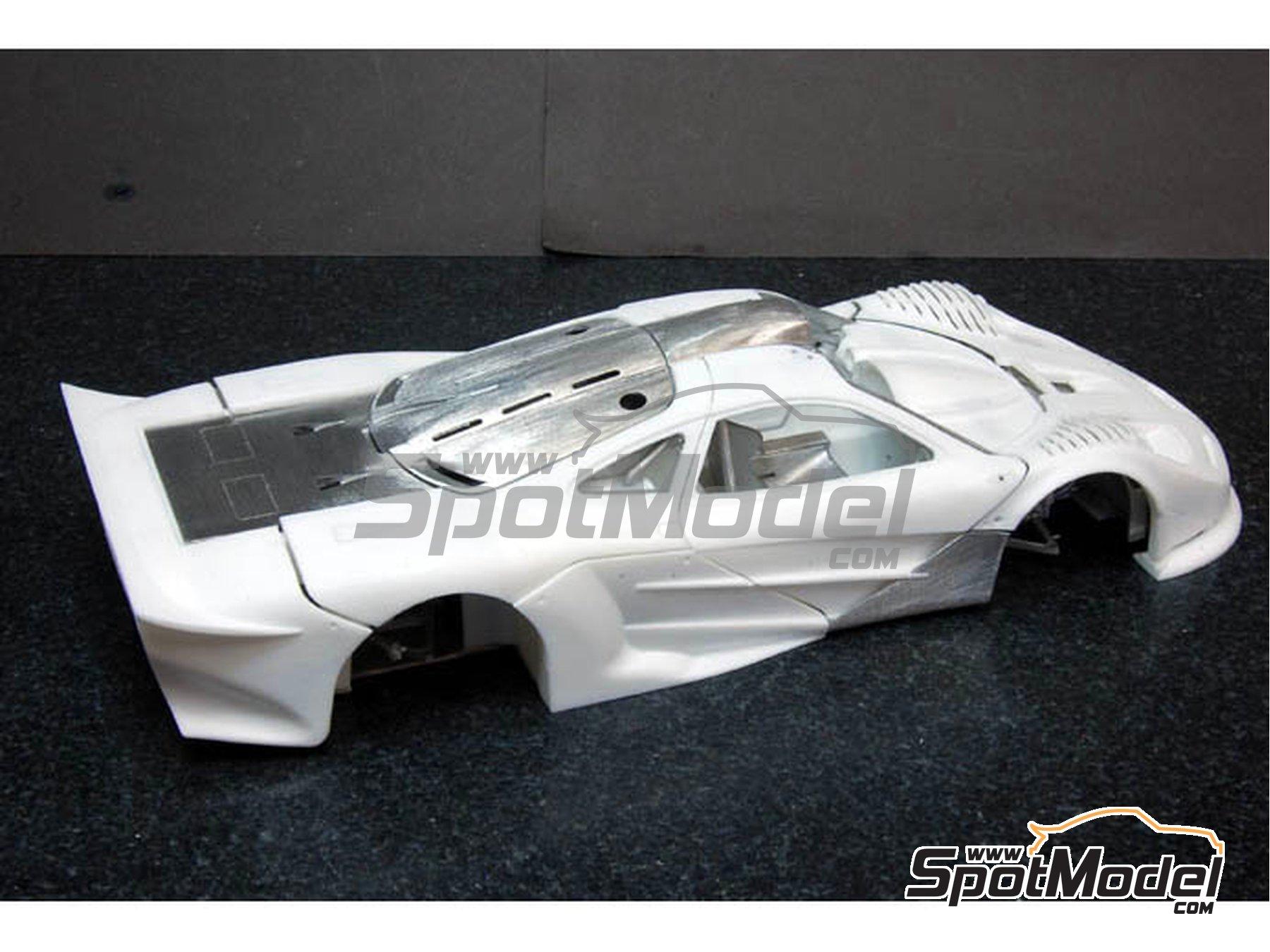 Image 5: McLaren F1 GTR  Long Tail Gulf Davidoff - 24 Horas de Le Mans 1997   Maqueta de coche en escala1/24 fabricado por Model Factory Hiro (ref.MFH-K376, tambien K-376)