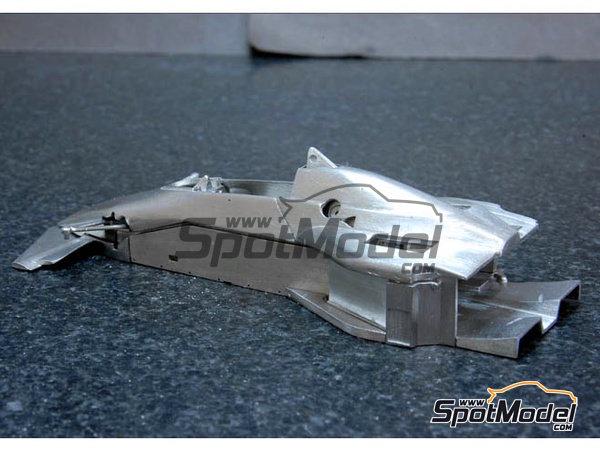 Image 5: Brabham BT52 Parmalat - Gran Premio de Fórmula 1 de Brasil, Gran Premio de Fórmula 1 de USA West Long Beach 1983 | Maqueta de coche en escala1/43 fabricado por Model Factory Hiro (ref.MFH-K384, tambien K-384)