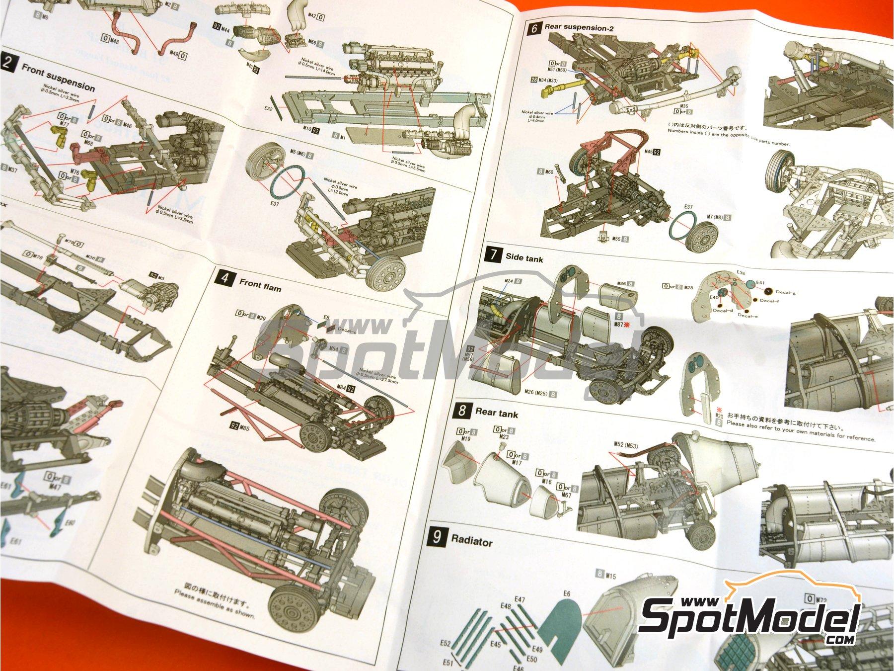 Image 12: Alfa Romeo Tipo 159 - Gran Premio de Fórmula 1 de Inglaterra 1951 | Maqueta de coche en escala1/43 fabricado por Model Factory Hiro (ref.MFH-K388, tambien K-388)