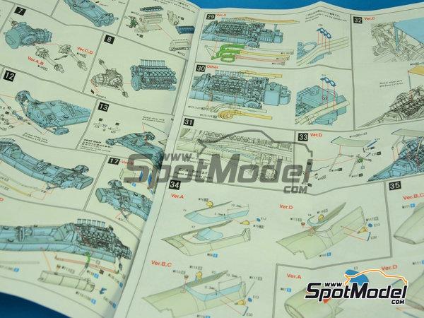 Image 3: Matra MS11 ELF - Dutch Formula 1 Grand Prix 1968 | Model car kit in 1/43 scale manufactured by Model Factory Hiro (ref.MFH-K412, also K-412)