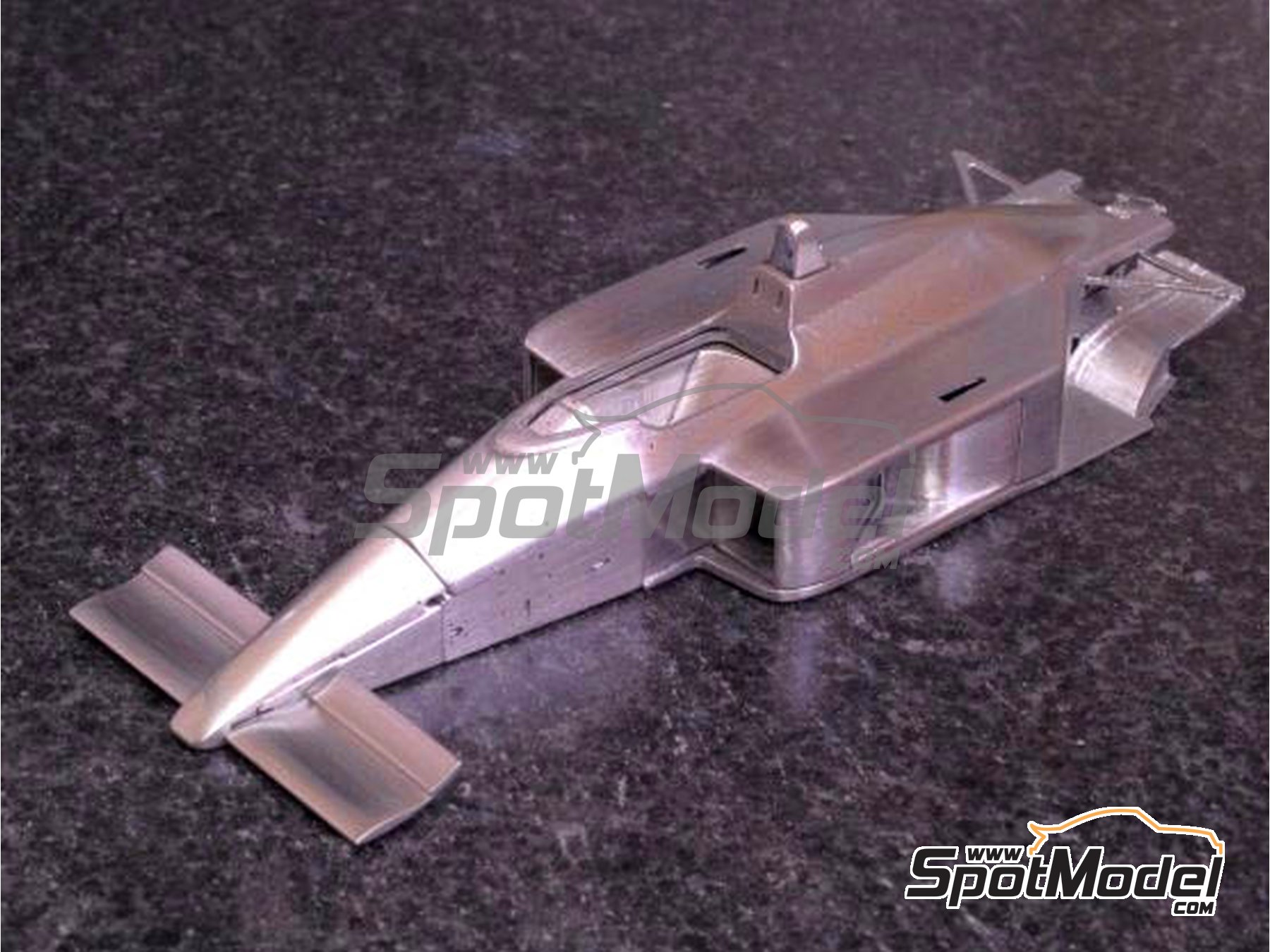 Image 4: McLaren Honda MP4/4 Marlboro - Canadian Grand Prix, French Grand Prix, Monaco Formula 1 Grand Prix, San Marino Grand Prix, USA Detroit Grand Prix 1988 | Model car kit in 1/43 scale manufactured by Model Factory Hiro (ref.MFH-K526)
