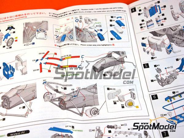 Image 10: Williams Renault FW16 Rothmand - Gran Premio de Brasil 1994 | Maqueta de coche en escala1/43 fabricado por Model Factory Hiro (ref.MFH-K535)