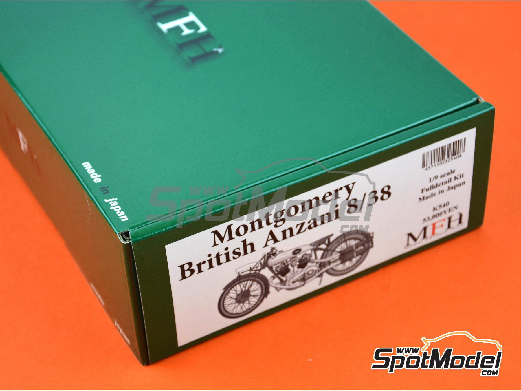 ... Image 26: Montgomery British Anzani 8/38hp   1920 | Model Bike Kit In