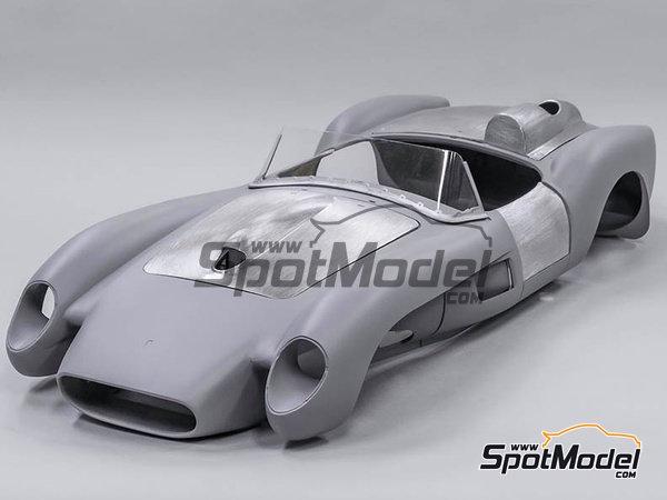 Image 2: Ferrari 250TR - 24 Horas de Le Mans 1958   Maqueta de coche en escala1/12 fabricado por Model Factory Hiro (ref.MFH-K549)