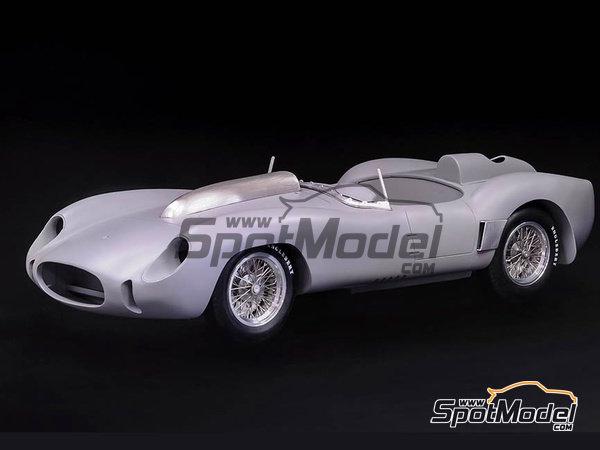 Image 2: Ferrari 250TR 58 - 24 Hours Le Mans, Targa Florio 1958 | Model car kit in 1/12 scale manufactured by Model Factory Hiro (ref.MFH-K551)