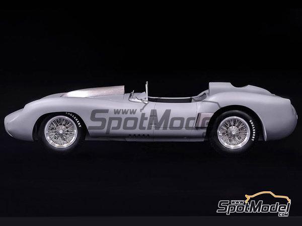Image 3: Ferrari 250TR 58 - 24 Hours Le Mans, Targa Florio 1958 | Model car kit in 1/12 scale manufactured by Model Factory Hiro (ref.MFH-K551)