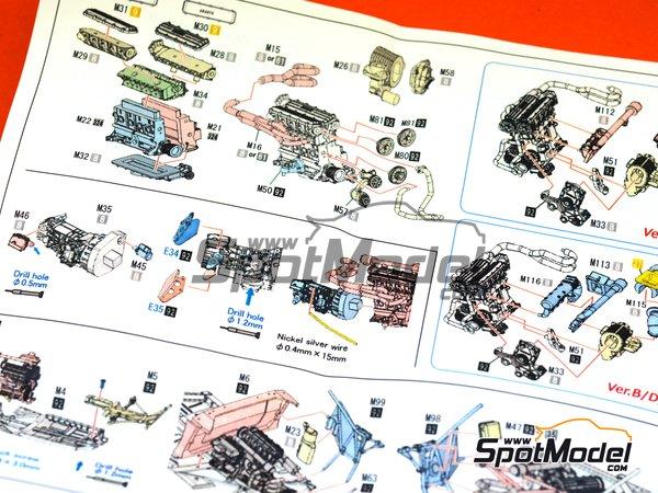 Image 28: Lancia 037 Rally Martini Racing Team - Rally de Montecarlo 1983 | Maqueta de coche en escala1/43 fabricado por Model Factory Hiro (ref.MFH-K557, tambien K-557)