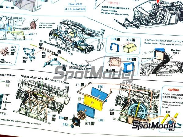Image 31: Lancia 037 Rally Martini Racing Team - Rally de Montecarlo 1983 | Maqueta de coche en escala1/43 fabricado por Model Factory Hiro (ref.MFH-K557, tambien K-557)