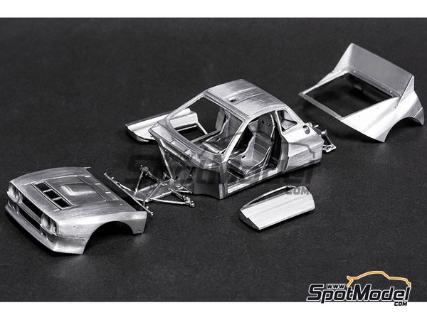 Image 5: Lancia 037 Rally Jolly Club Totip - Tour de Corse 1984 | Model car kit in 1/43 scale manufactured by Model Factory Hiro (ref. MFH-K560, also K-560)