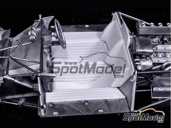 Image 12: Ferrari 412P - 24 Horas de Le Mans, 1000 Kms de SPA | Maqueta de coche en escala1/12 fabricado por Model Factory Hiro (ref.MFH-K562)
