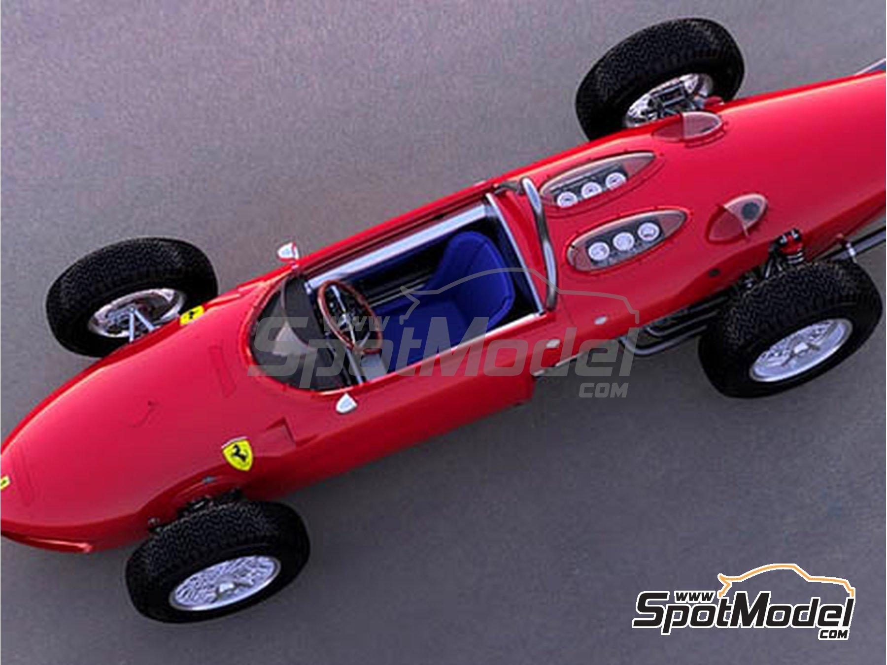Image 2: Ferrari 156 F1 Shark Nose - Gran Premio de Italia de Formula 1 1961 | Maqueta de coche en escala1/12 fabricado por Model Factory Hiro (ref.MFH-K644)