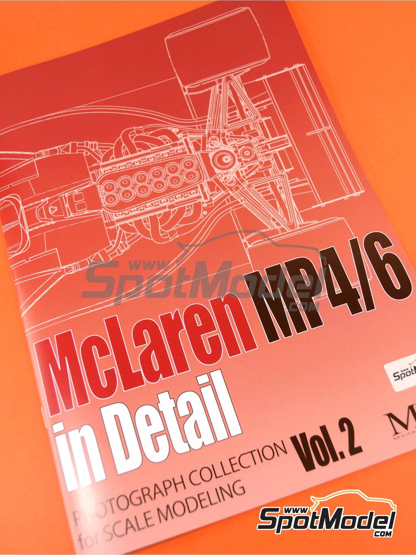 McLaren Honda MP4/6 | Reference / walkaround book manufactured by Model Factory Hiro (ref.MFH-MHB-2) image