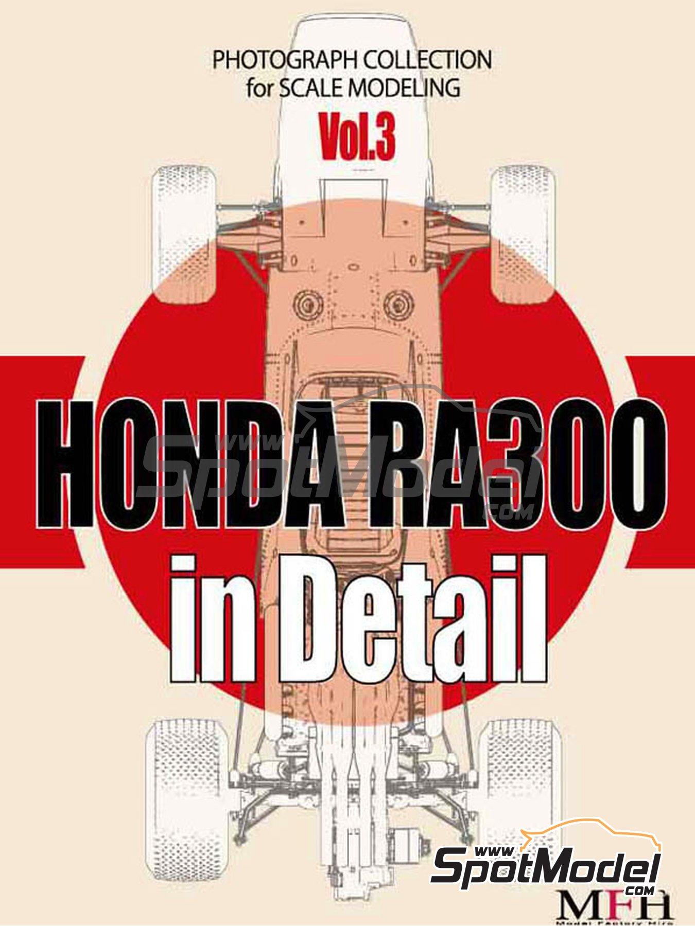 Honda RA300 | Libro de referencia fabricado por Model Factory Hiro (ref.MFH-MHB-3) image