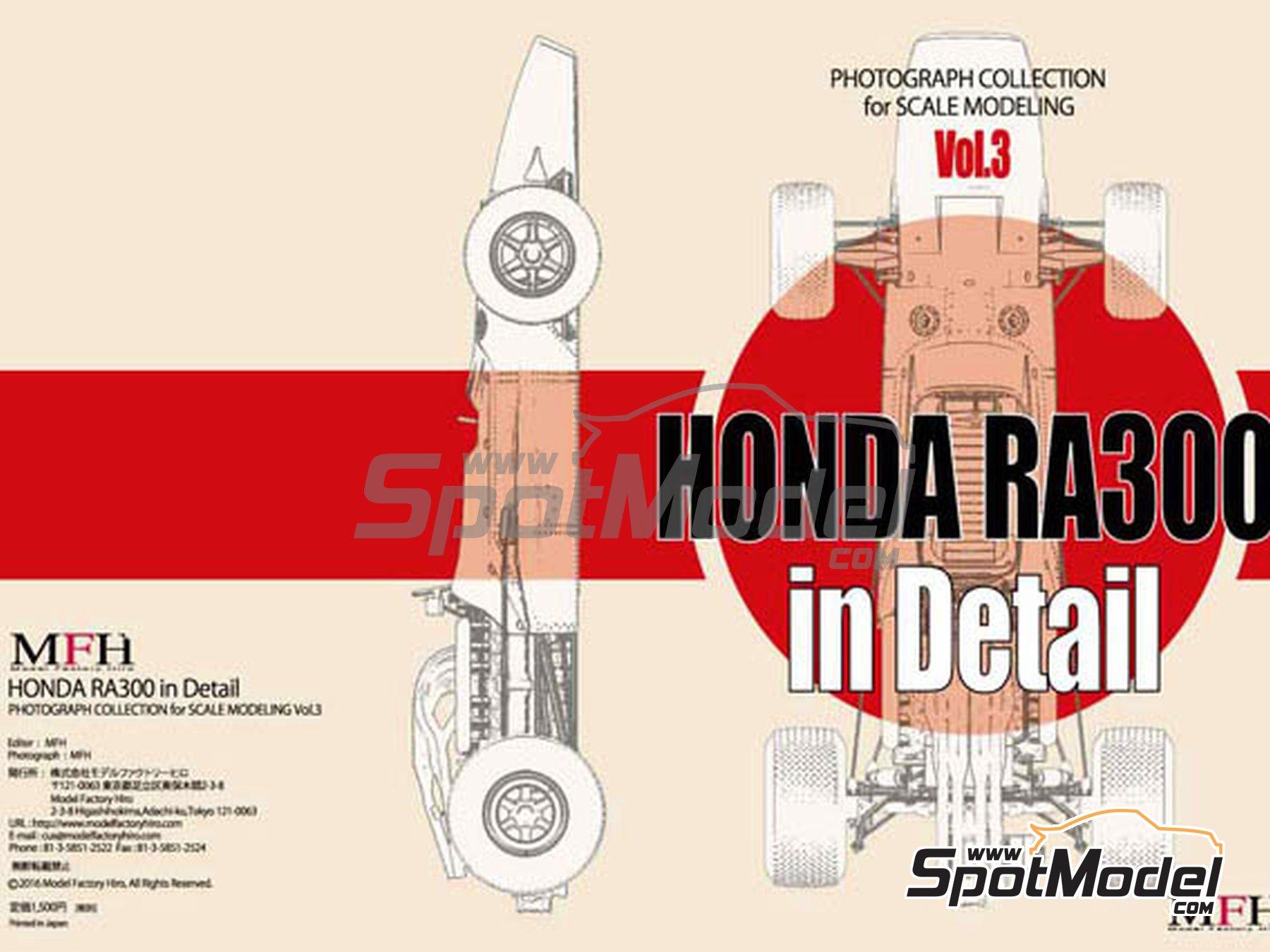 Image 1: Honda RA300 | Libro de referencia fabricado por Model Factory Hiro (ref.MFH-MHB-3)