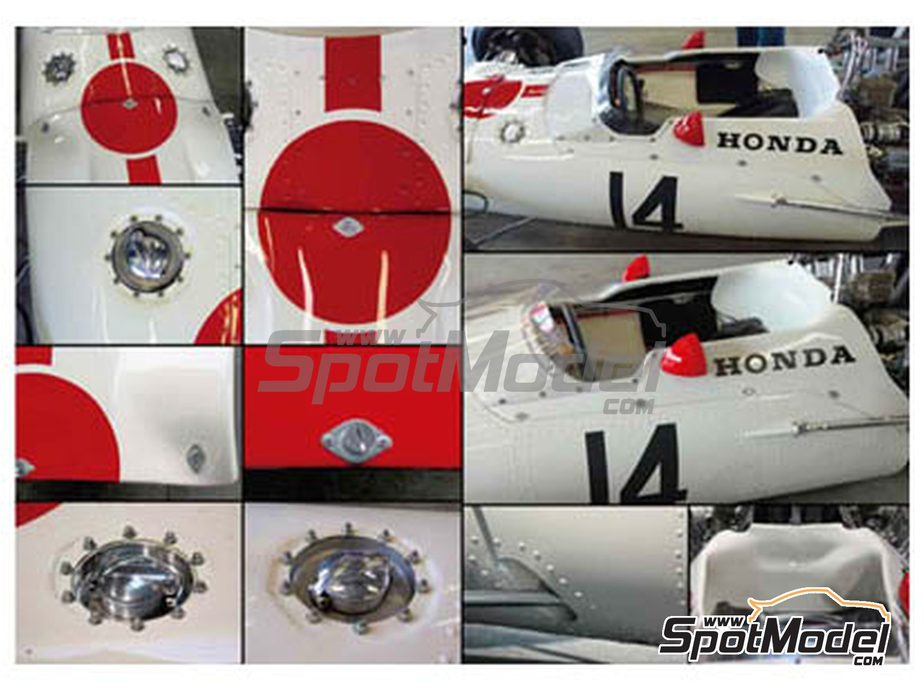 Image 2: Honda RA300 | Libro de referencia fabricado por Model Factory Hiro (ref.MFH-MHB-3)