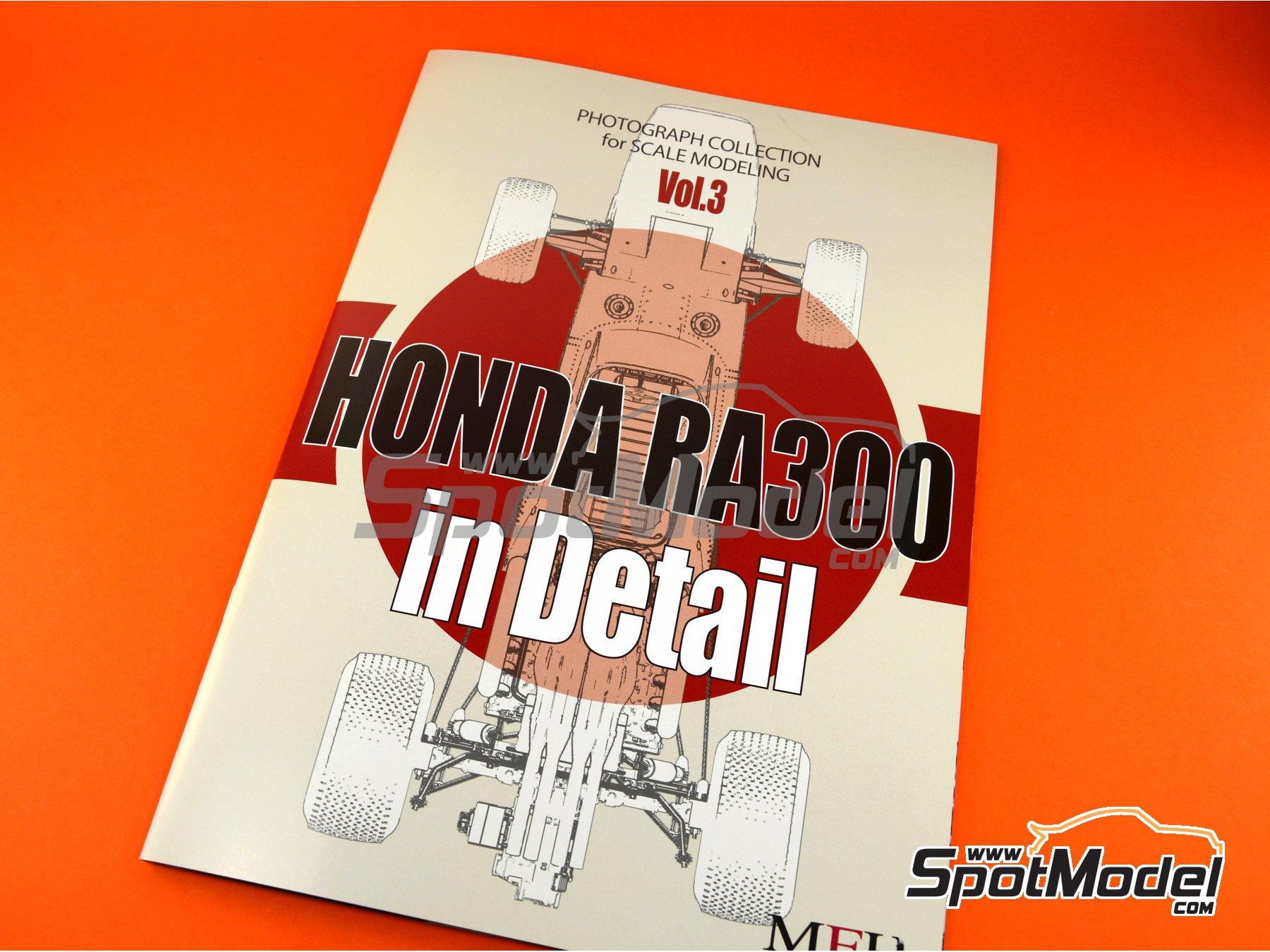 Image 5: Honda RA300 | Libro de referencia fabricado por Model Factory Hiro (ref.MFH-MHB-3)
