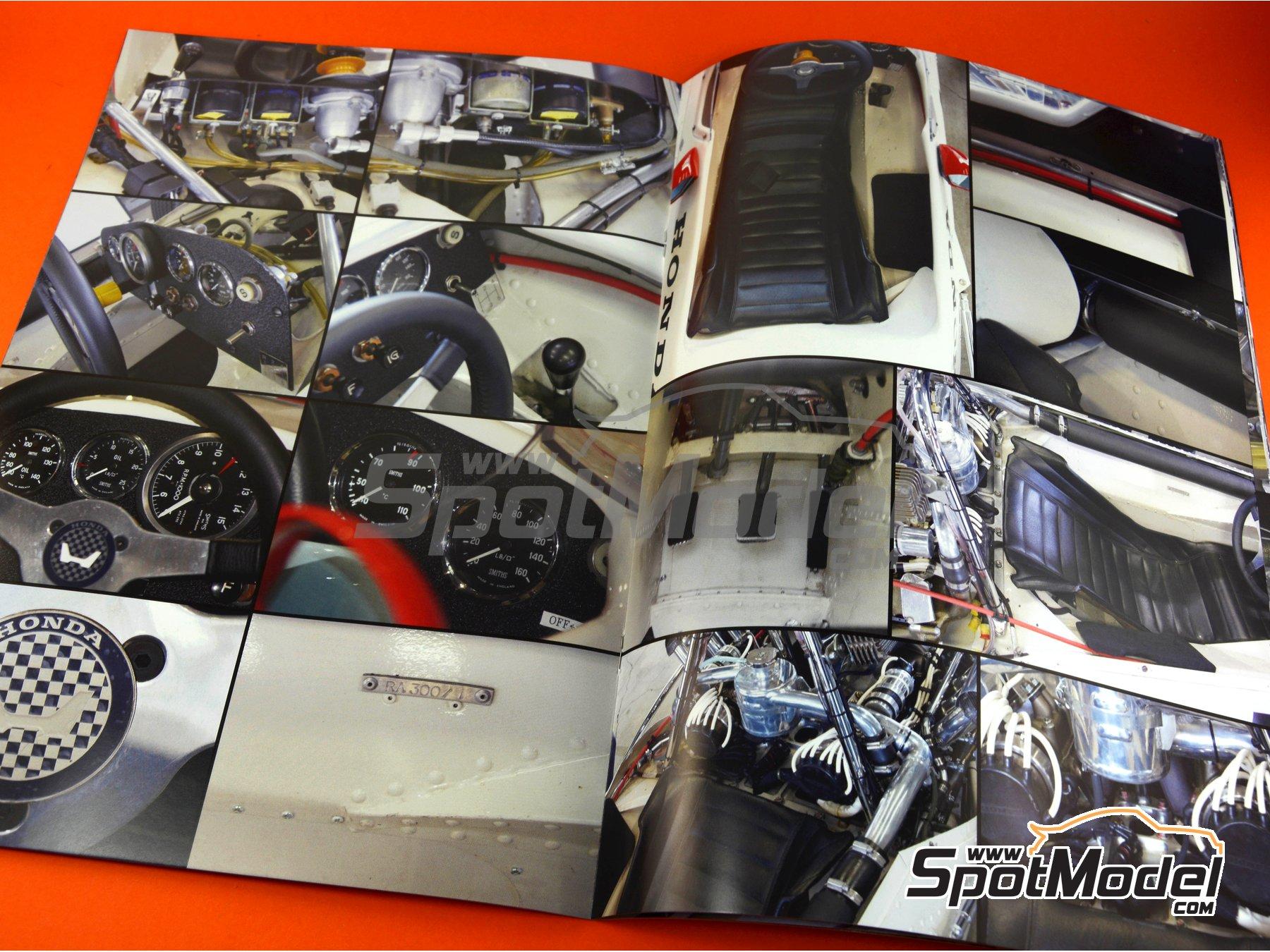 Image 6: Honda RA300 | Libro de referencia fabricado por Model Factory Hiro (ref.MFH-MHB-3)