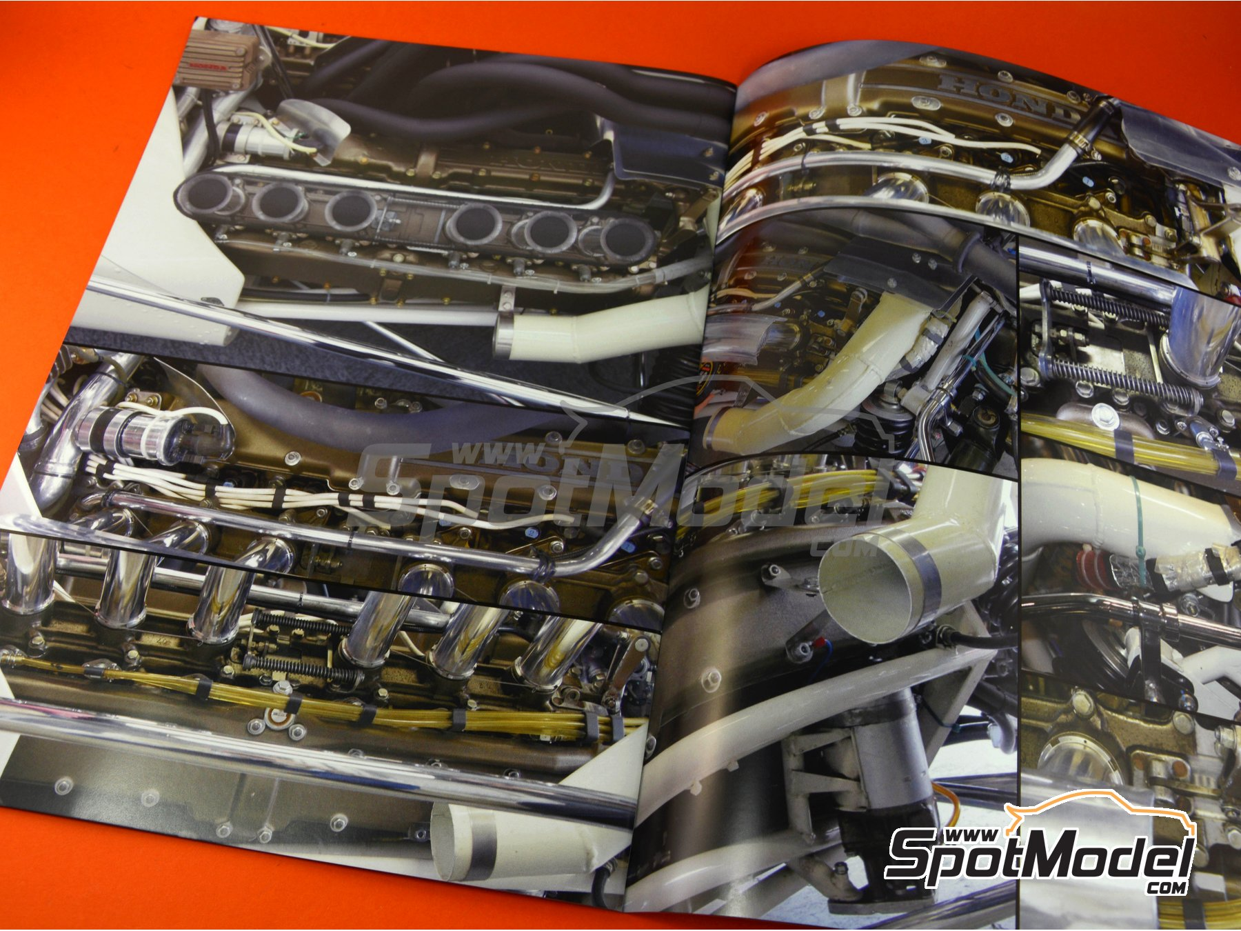 Image 7: Honda RA300 | Libro de referencia fabricado por Model Factory Hiro (ref.MFH-MHB-3)