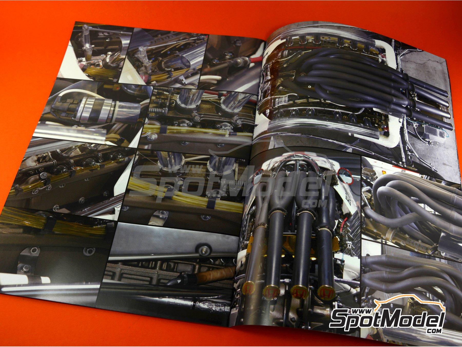 Image 8: Honda RA300 | Libro de referencia fabricado por Model Factory Hiro (ref.MFH-MHB-3)