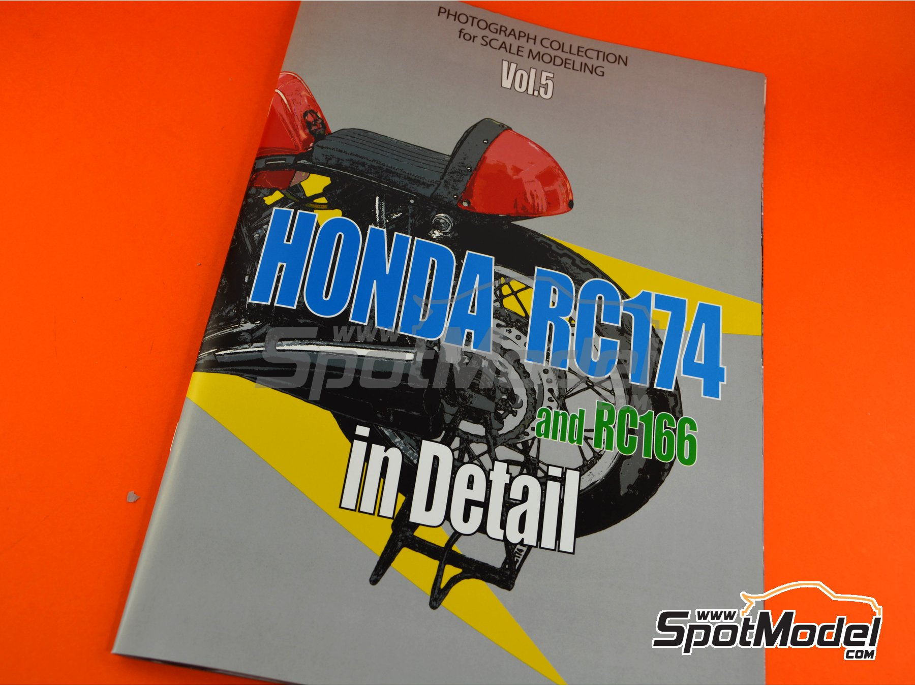 Image 1: Honda RC174 and RC166 | Reference / walkaround book manufactured by Model Factory Hiro (ref. MFH-MHB-5)