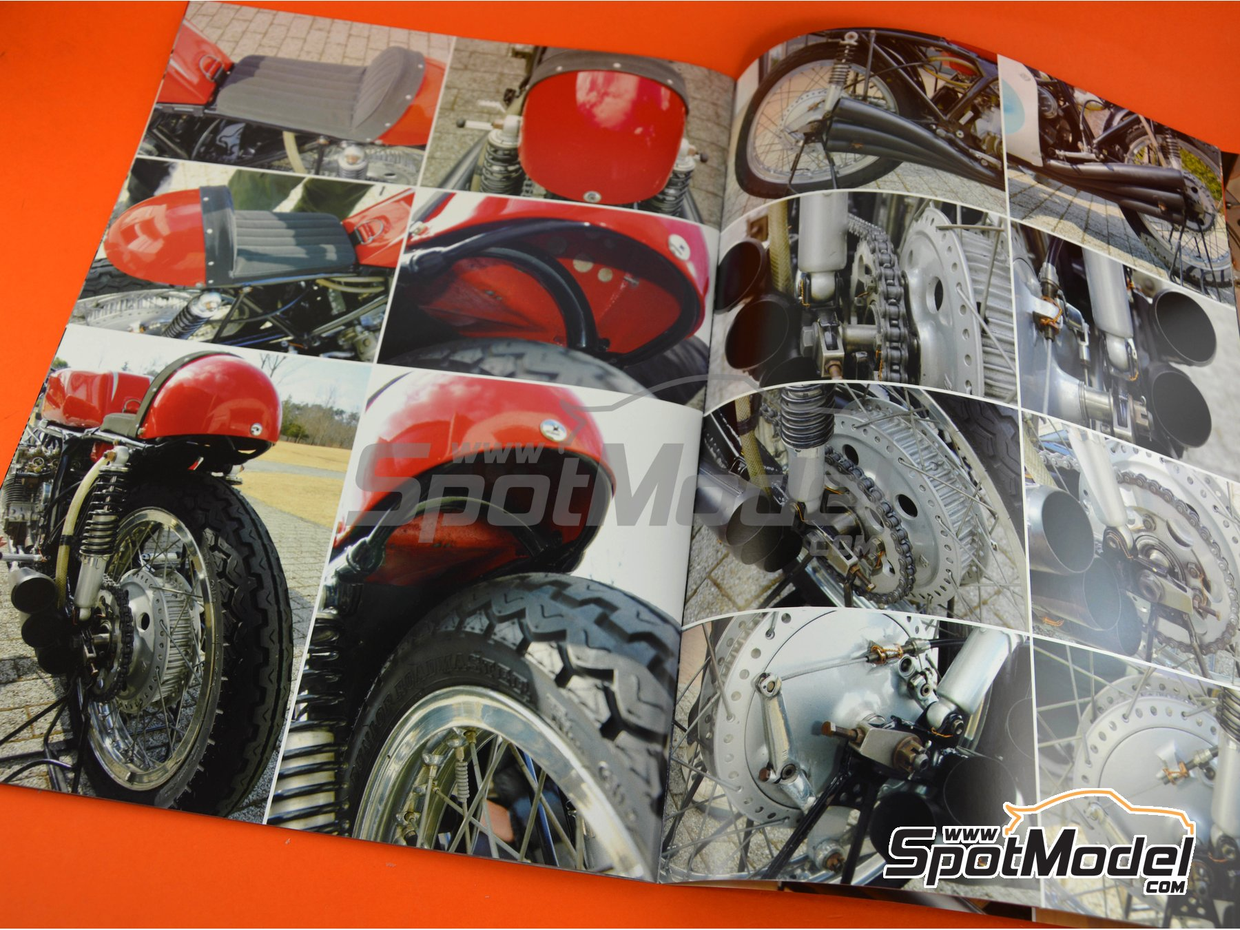 Image 3: Honda RC174 and RC166 | Reference / walkaround book manufactured by Model Factory Hiro (ref. MFH-MHB-5)