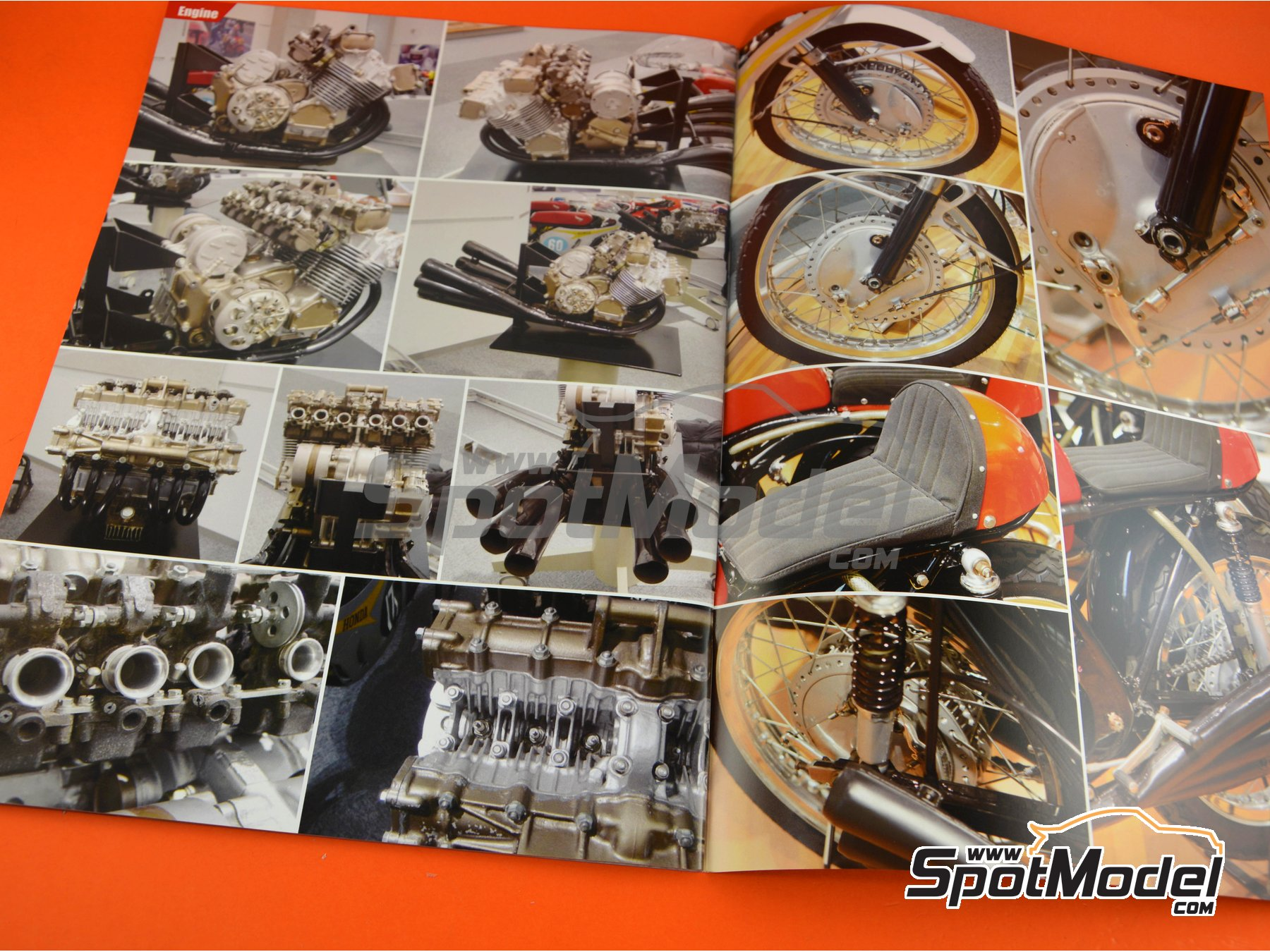 Image 4: Honda RC174 and RC166 | Reference / walkaround book manufactured by Model Factory Hiro (ref. MFH-MHB-5)