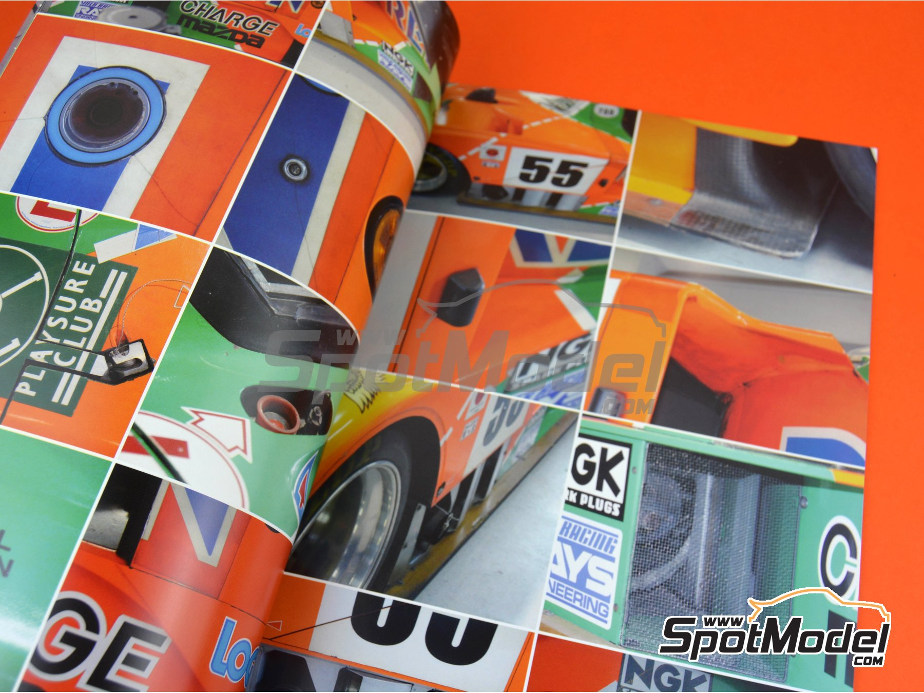 Image 2: Mazda 787B | Reference / walkaround book manufactured by Model Factory Hiro (ref. MFH-MHB-6)