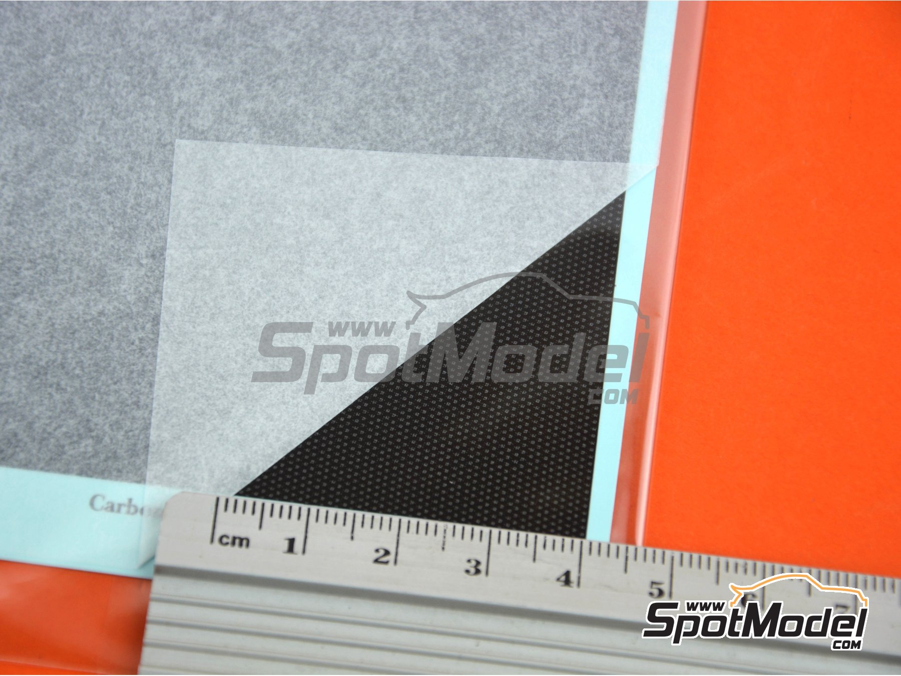 Image 5: Carbon Decal Gradation Pattern Type 2 Small | Decals manufactured by Model Factory Hiro (ref. MFH-P1135)