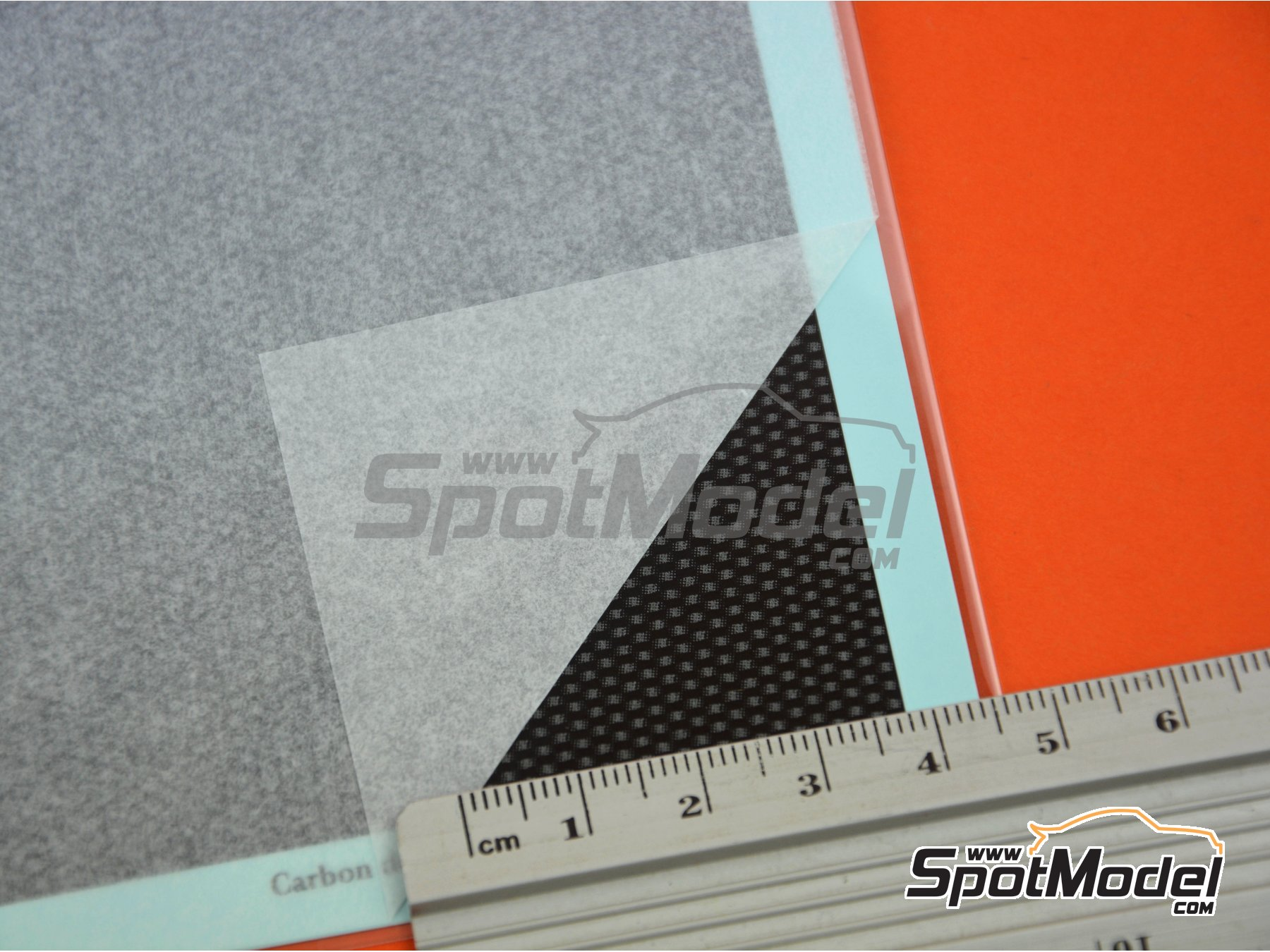 Image 5: Carbon Decal Gradation Pattern Type 2 Large | Decals manufactured by Model Factory Hiro (ref. MFH-P1136)