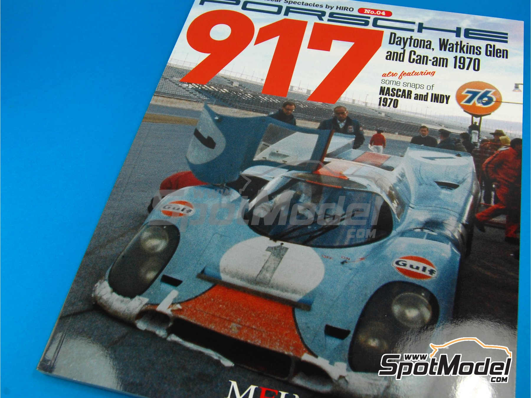 Image 1: JOE HONDA - Sportcar Spectacles - Porsche 917 - 24 Hours of Daytona, Can-Am Canadian-American Challenge Cup, Watkins Glen 6 Hours 1970 | Reference / walkaround book manufactured by Model Factory Hiro (ref.MFH-SS004)