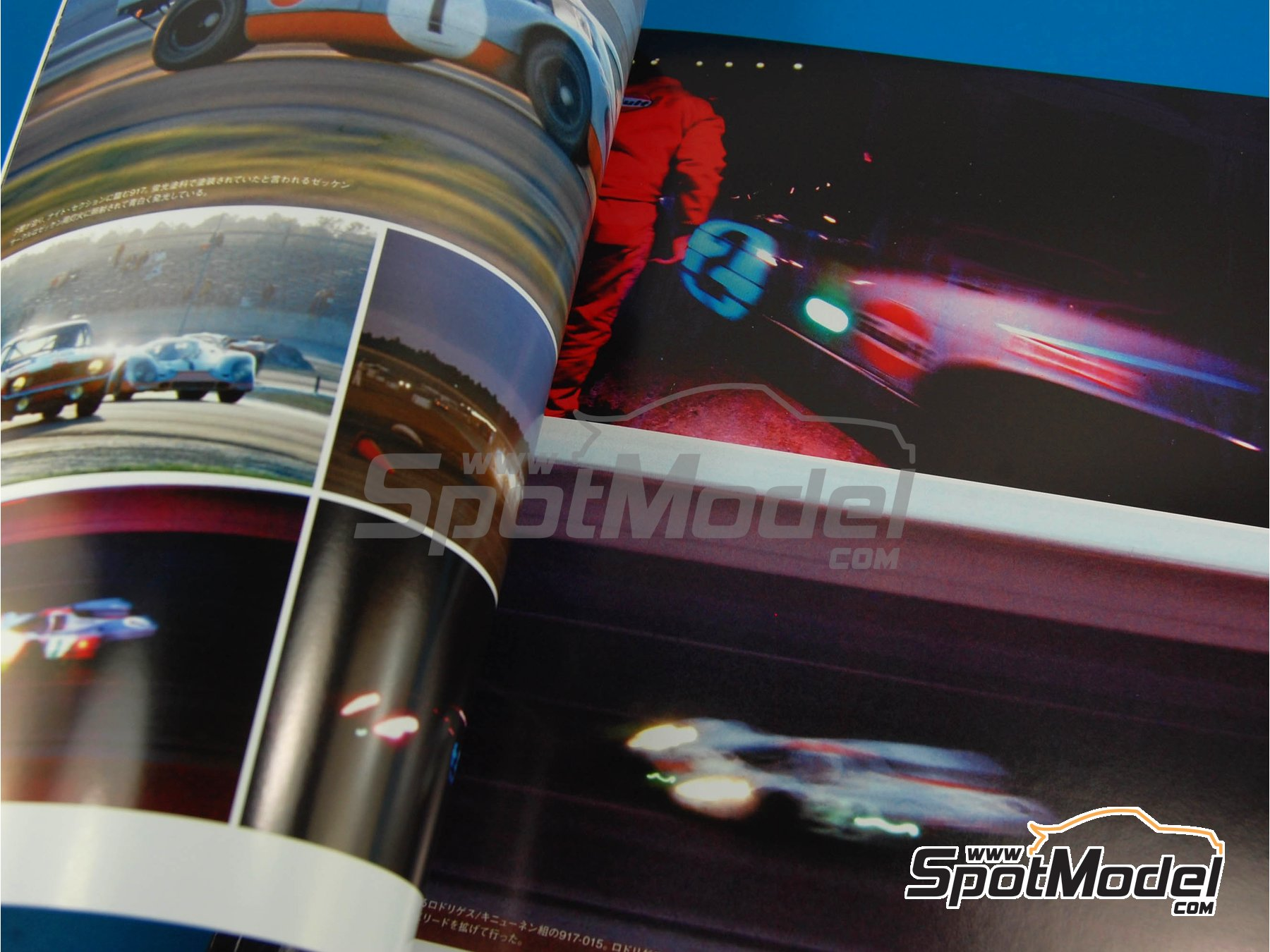 Image 3: JOE HONDA - Sportcar Spectacles - Porsche 917 - 24 Hours of Daytona, Can-Am Canadian-American Challenge Cup, Watkins Glen 6 Hours 1970 | Reference / walkaround book manufactured by Model Factory Hiro (ref.MFH-SS004)