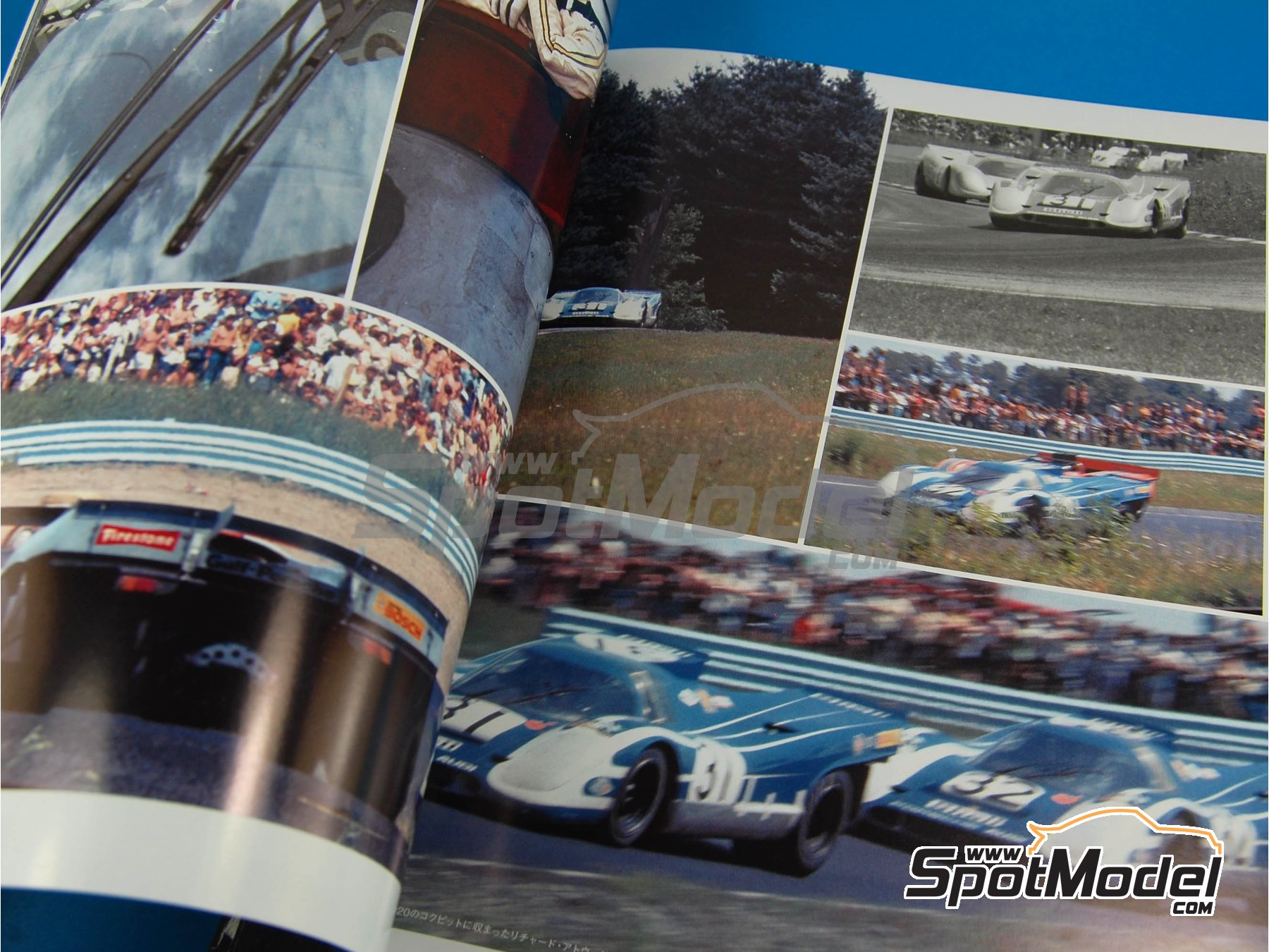 Image 7: JOE HONDA - Sportcar Spectacles - Porsche 917 - 24 Hours of Daytona, Can-Am Canadian-American Challenge Cup, Watkins Glen 6 Hours 1970 | Reference / walkaround book manufactured by Model Factory Hiro (ref.MFH-SS004)