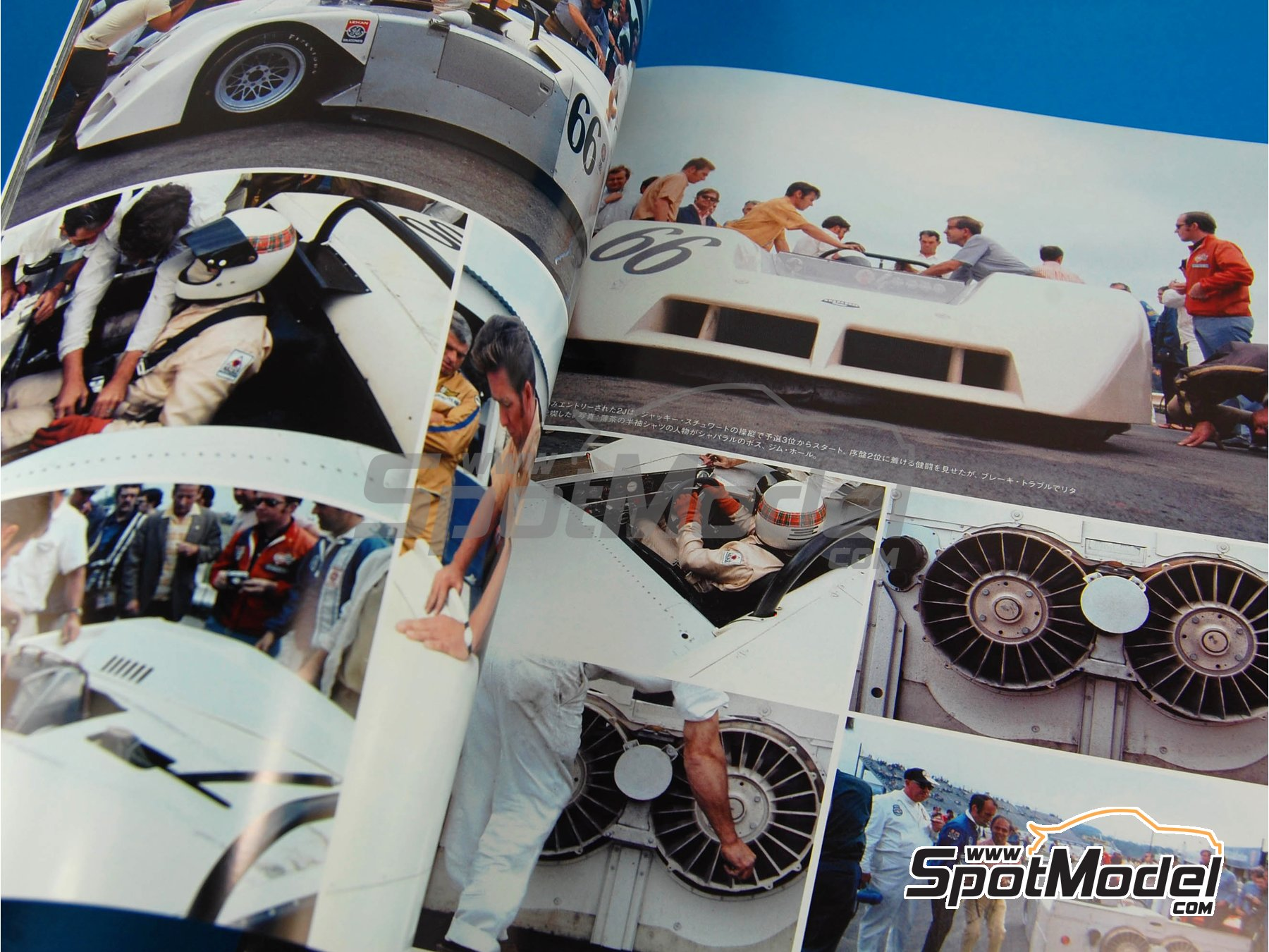 Image 8: JOE HONDA - Sportcar Spectacles - Porsche 917 - 24 Hours of Daytona, Can-Am Canadian-American Challenge Cup, Watkins Glen 6 Hours 1970 | Reference / walkaround book manufactured by Model Factory Hiro (ref.MFH-SS004)