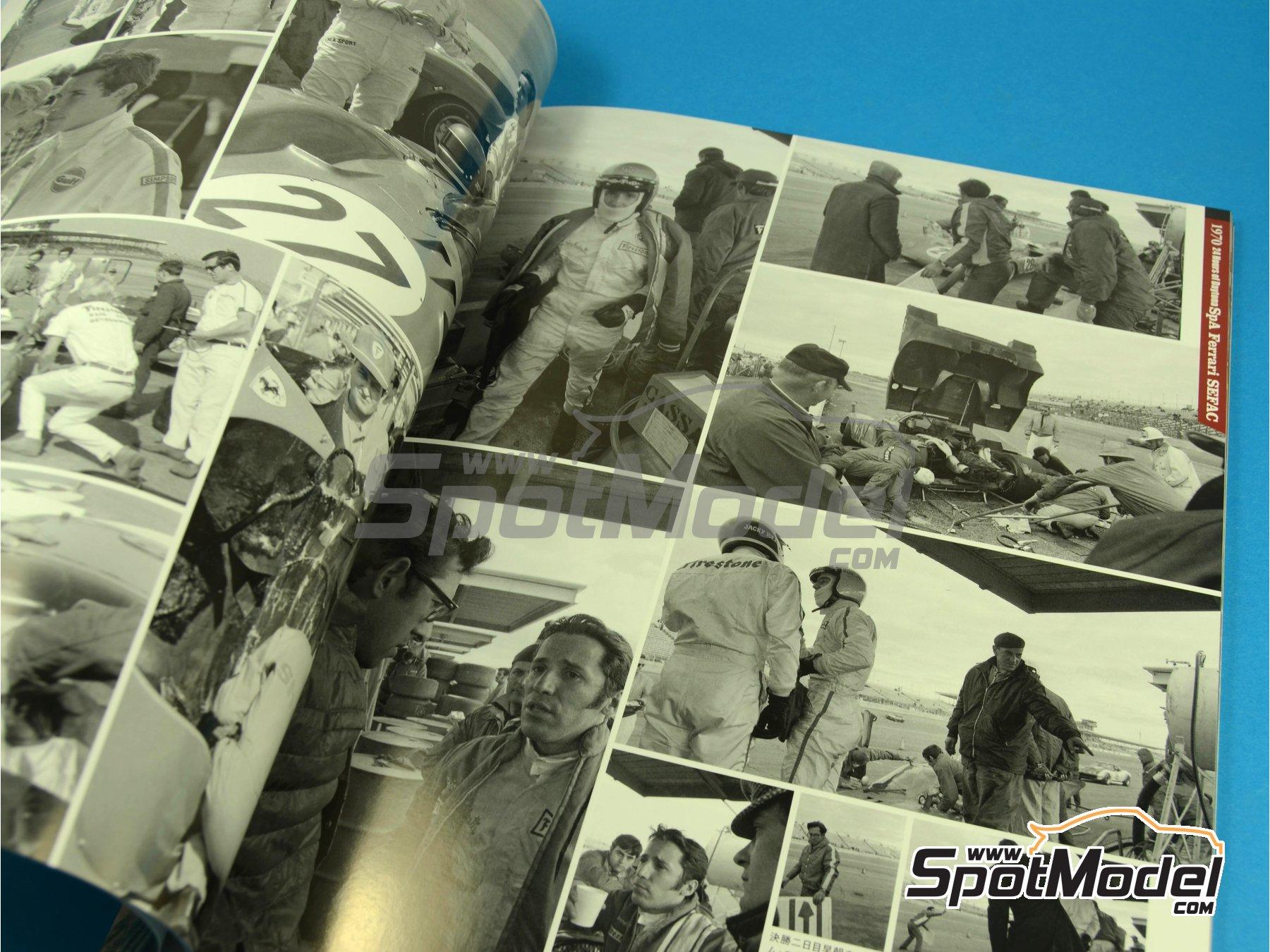 Image 2: JOE HONDA - Sportcar Spectacles - Ferrari 512S -  1970 | Reference / walkaround book manufactured by Model Factory Hiro (ref.MFH-SS005)