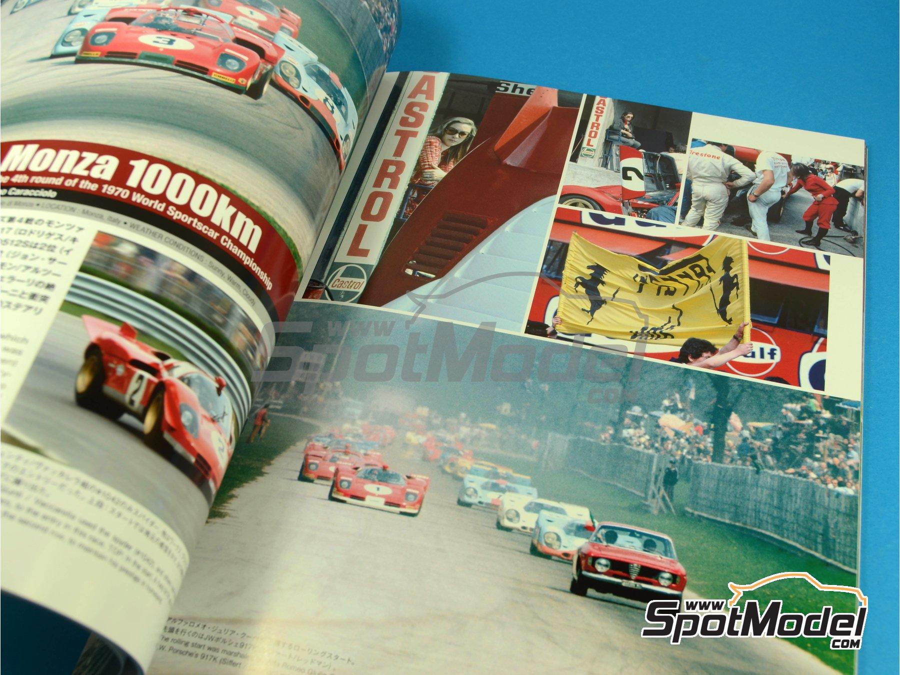 Image 5: JOE HONDA - Sportcar Spectacles - Ferrari 512S -  1970 | Reference / walkaround book manufactured by Model Factory Hiro (ref.MFH-SS005)