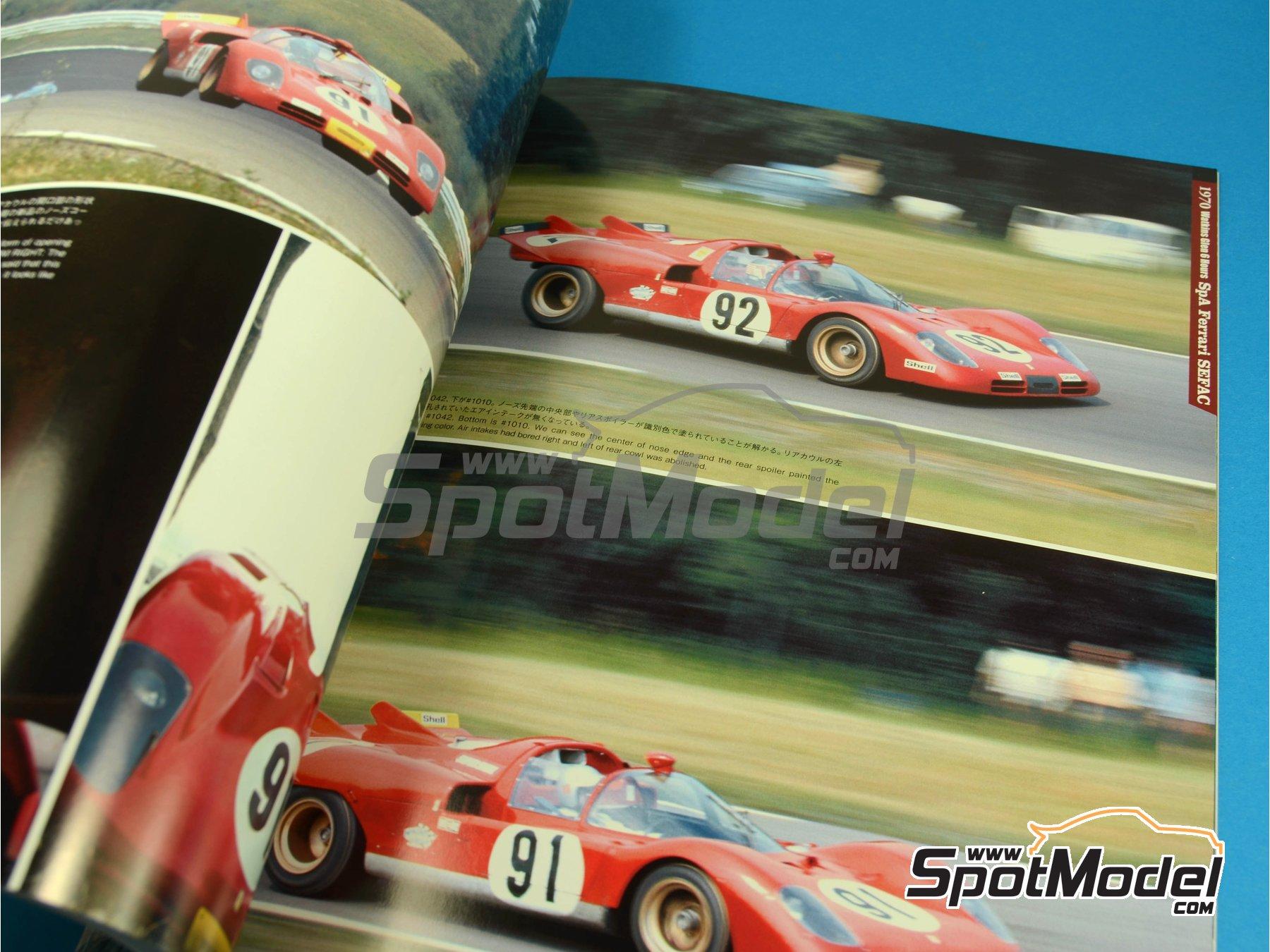 Image 9: JOE HONDA - Sportcar Spectacles - Ferrari 512S -  1970 | Reference / walkaround book manufactured by Model Factory Hiro (ref.MFH-SS005)