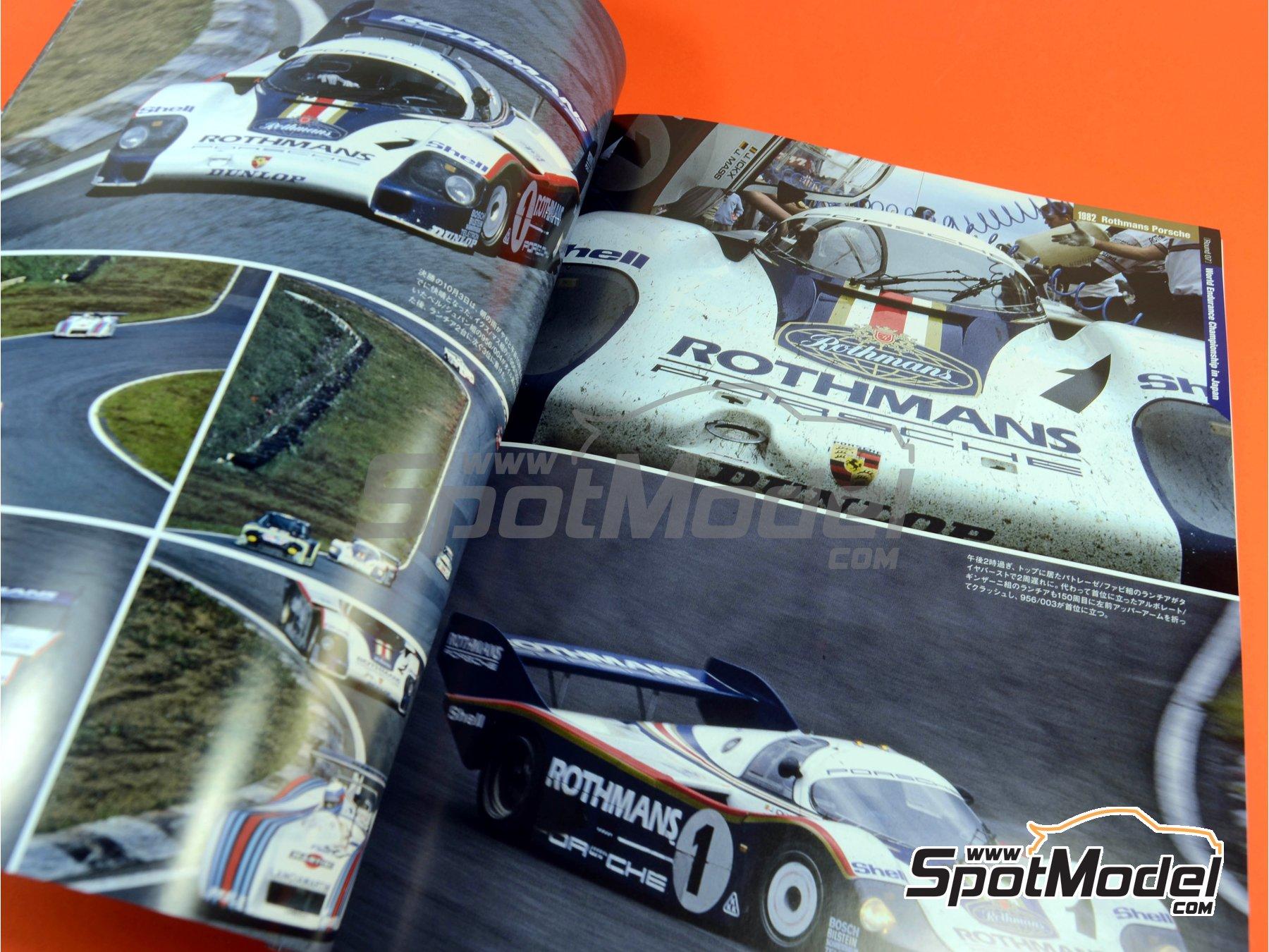 Image 4: Joe Honda Sportscar Spectacles - Porsche 956 - 24 Horas de Le Mans, 1000 Kilómetros de Suzuka, 6 Horas de Silverstone, 6 Horas de Fuji 1982, 1983, 1984, 1985 y 1985 | Libro de referencia fabricado por Model Factory Hiro (ref.MFH-SS007)