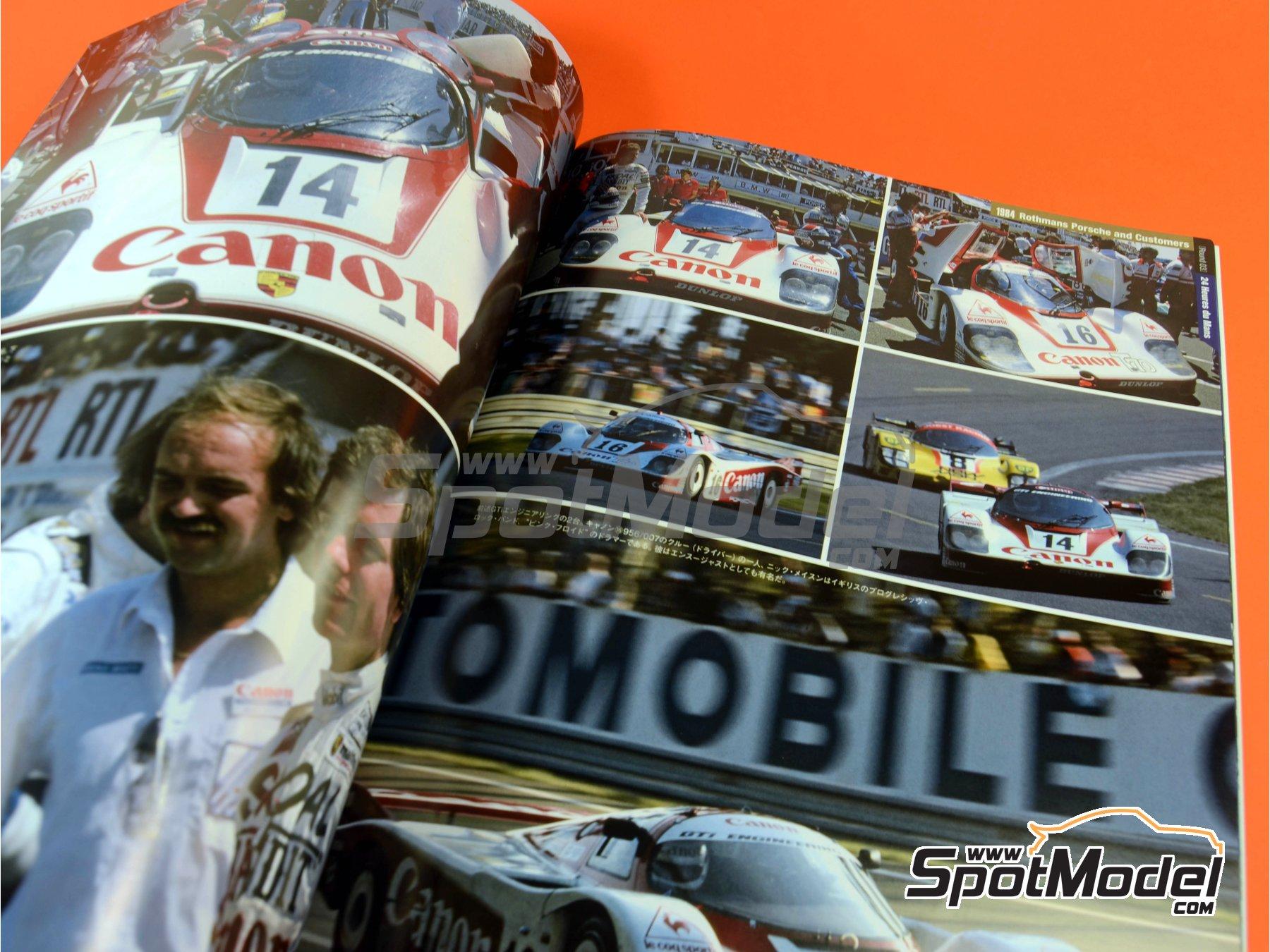 Image 7: Joe Honda Sportscar Spectacles - Porsche 956 - 24 Horas de Le Mans, 1000 Kilómetros de Suzuka, 6 Horas de Silverstone, 6 Horas de Fuji 1982, 1983, 1984, 1985 y 1985 | Libro de referencia fabricado por Model Factory Hiro (ref.MFH-SS007)