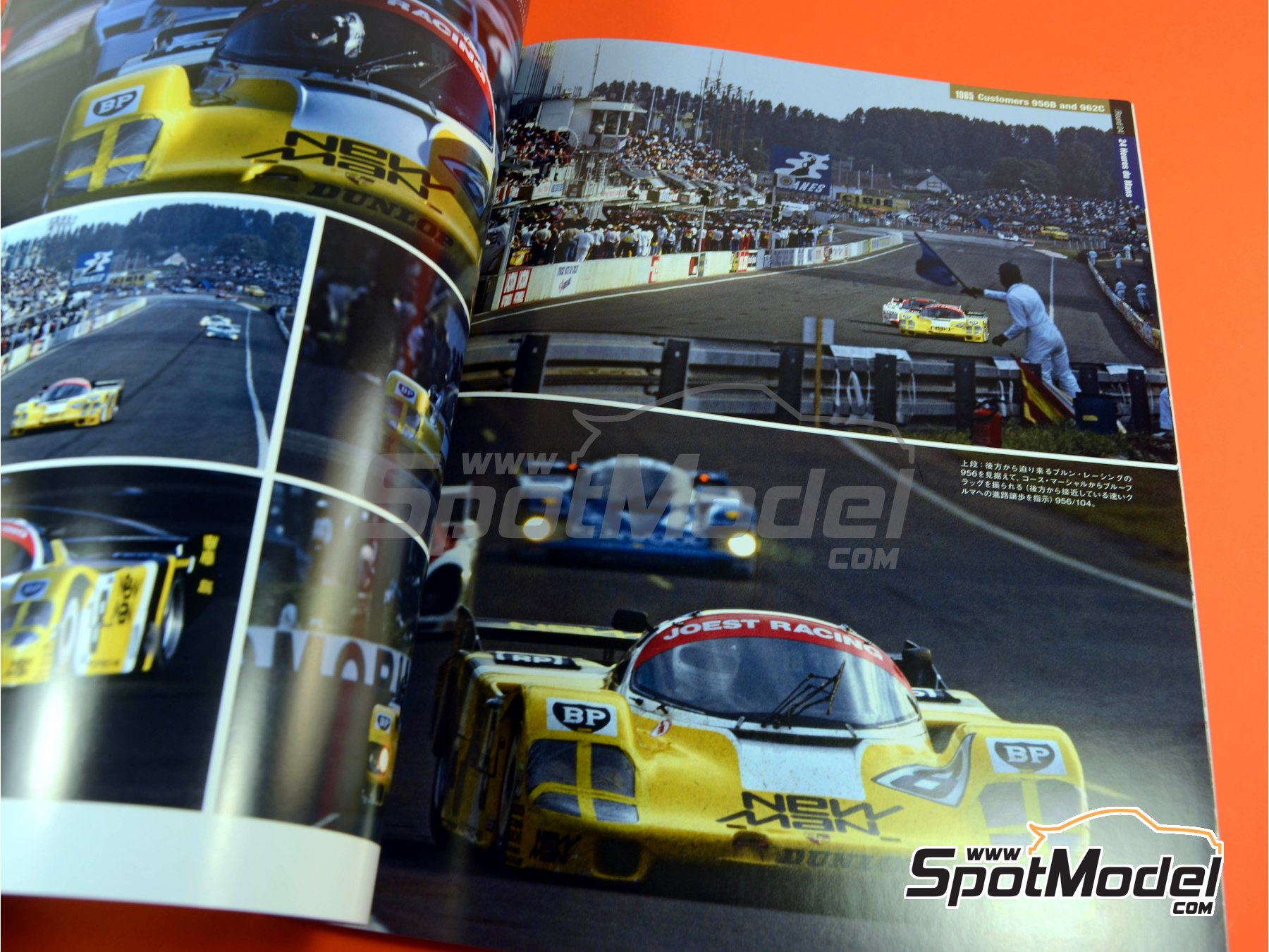 Image 9: Joe Honda Sportscar Spectacles - Porsche 956 - 24 Horas de Le Mans, 1000 Kilómetros de Suzuka, 6 Horas de Silverstone, 6 Horas de Fuji 1982, 1983, 1984, 1985 y 1985 | Libro de referencia fabricado por Model Factory Hiro (ref.MFH-SS007)