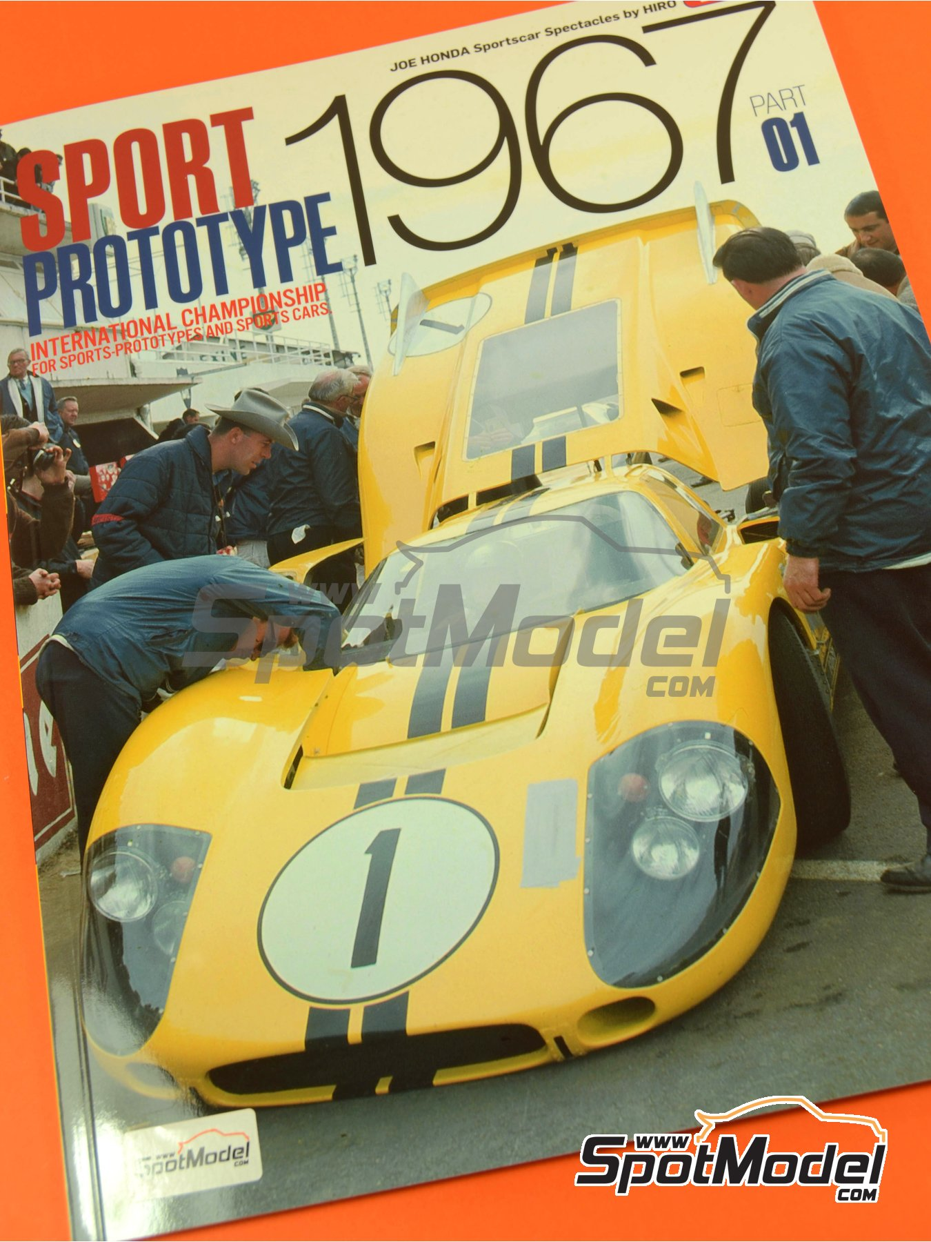 JOE HONDA - Sportcar Spectacles - Sport Prototypes - Part 1 - 24 Hours Le Mans, Targa Florio 1967 | Reference / walkaround book manufactured by Model Factory Hiro (ref. MFH-SS008) image