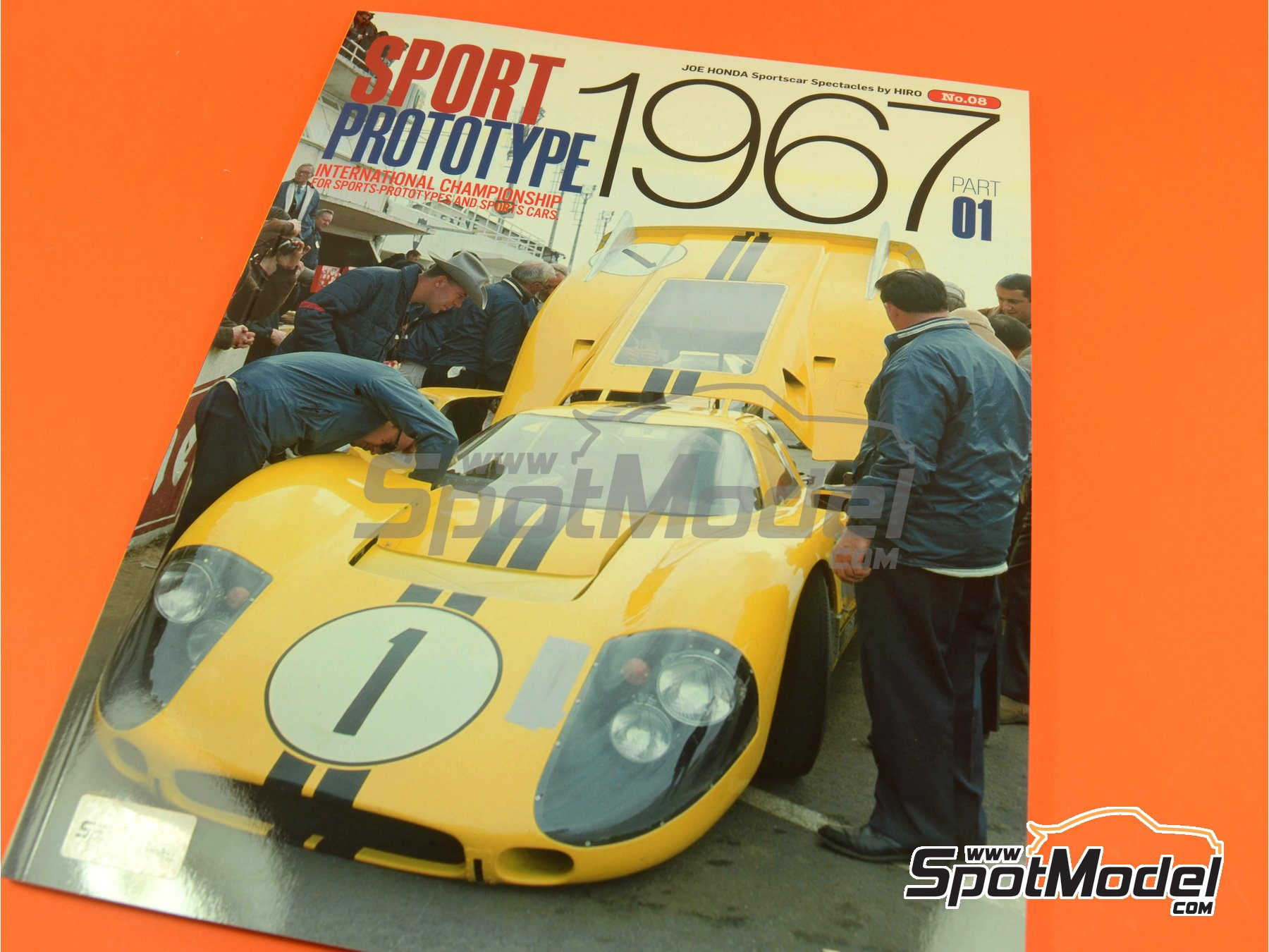 Image 1: JOE HONDA - Sportcar Spectacles - Sport Prototypes - Part 1 - 24 Hours Le Mans, Targa Florio 1967 | Reference / walkaround book manufactured by Model Factory Hiro (ref. MFH-SS008)