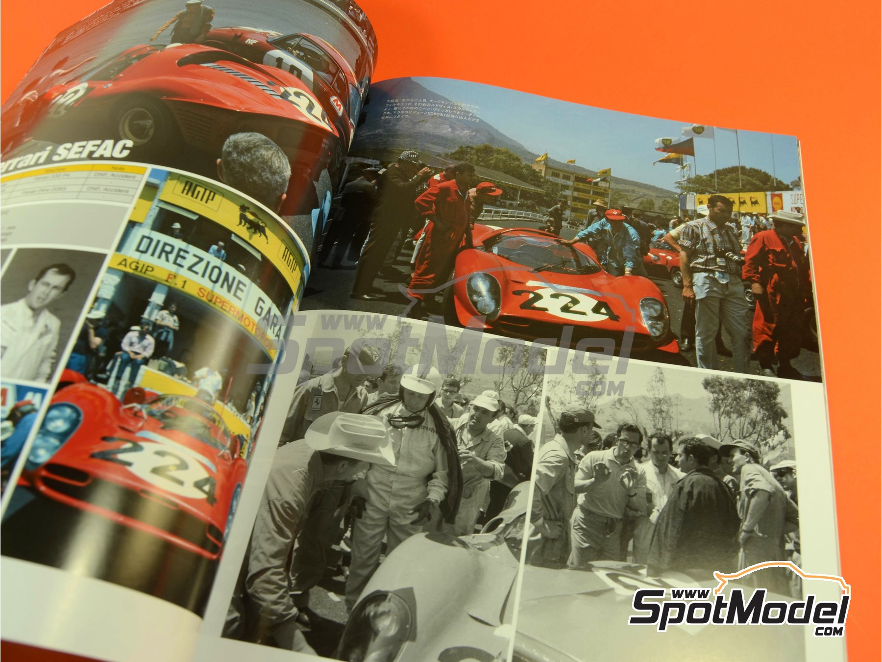 Image 4: JOE HONDA - Sportcar Spectacles - Sport Prototypes - Part 1 - 24 Hours Le Mans, Targa Florio 1967 | Reference / walkaround book manufactured by Model Factory Hiro (ref. MFH-SS008)