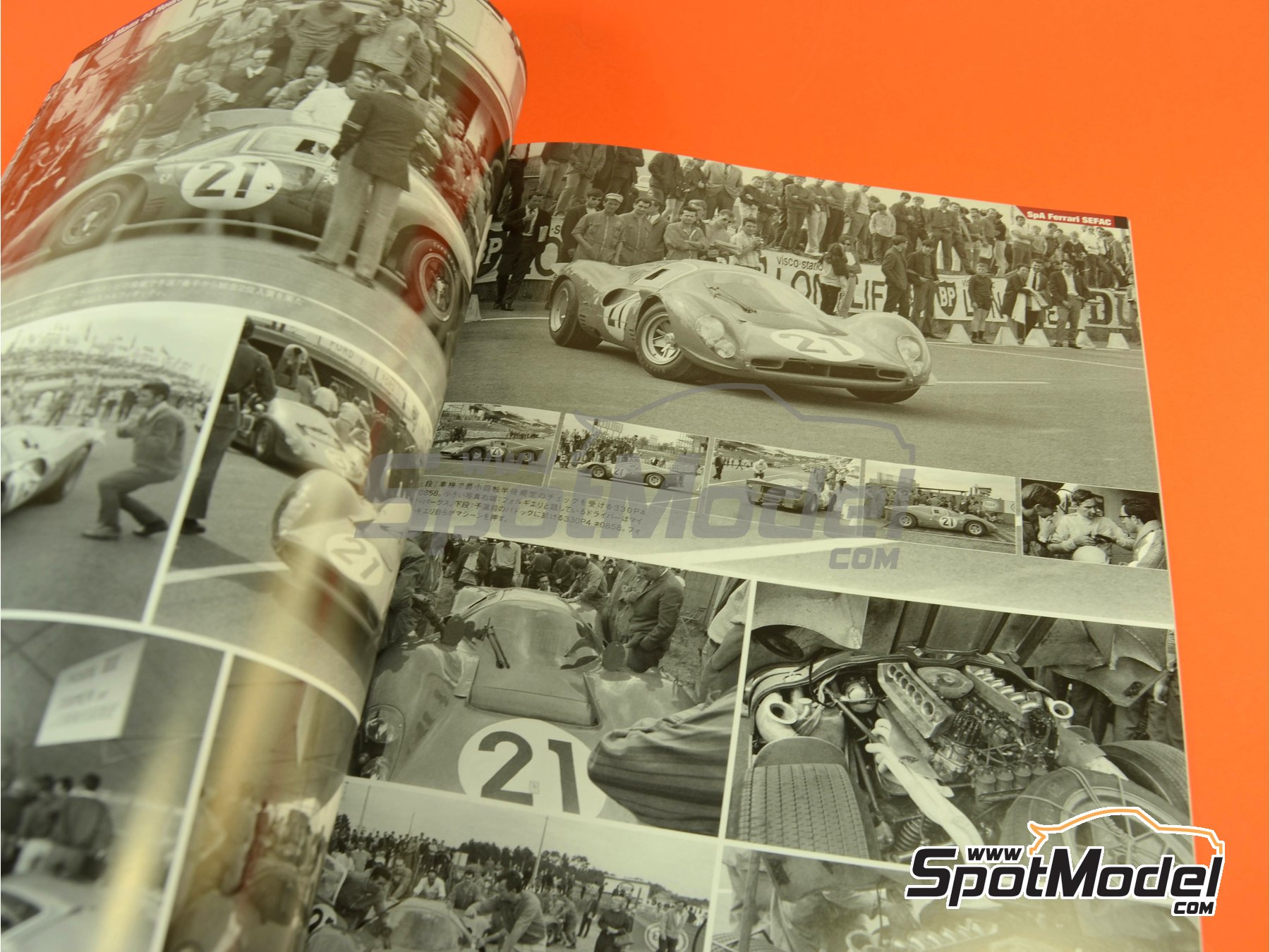 Image 6: JOE HONDA - Sportcar Spectacles - Sport Prototypes - Part 1 - 24 Hours Le Mans, Targa Florio 1967 | Reference / walkaround book manufactured by Model Factory Hiro (ref. MFH-SS008)