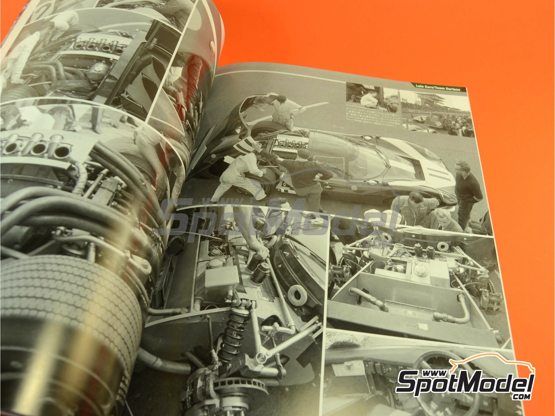 Image 7: JOE HONDA - Sportcar Spectacles - Sport Prototypes - Part 1 - 24 Hours Le Mans, Targa Florio 1967 | Reference / walkaround book manufactured by Model Factory Hiro (ref. MFH-SS008)