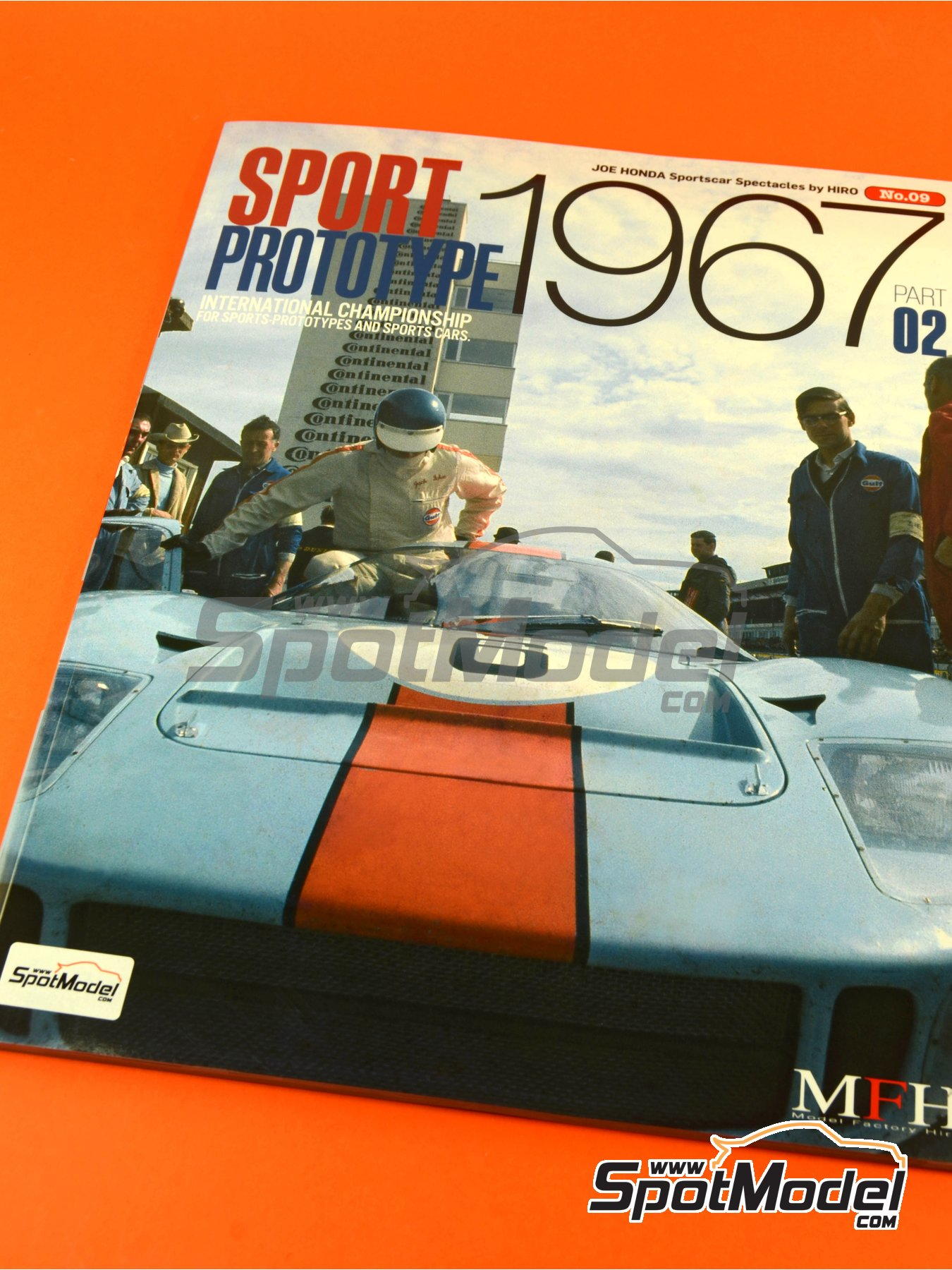 JOE HONDA - Sportcar Spectacles - Sport Prototypes - Part 2 - 1000 Kms Monza, 1000 Kms Nürburgring, 1000 Kms SPA, 500 Kms BOAC Sports Race 1967 | Reference / walkaround book manufactured by Model Factory Hiro (ref. MFH-SS009) image