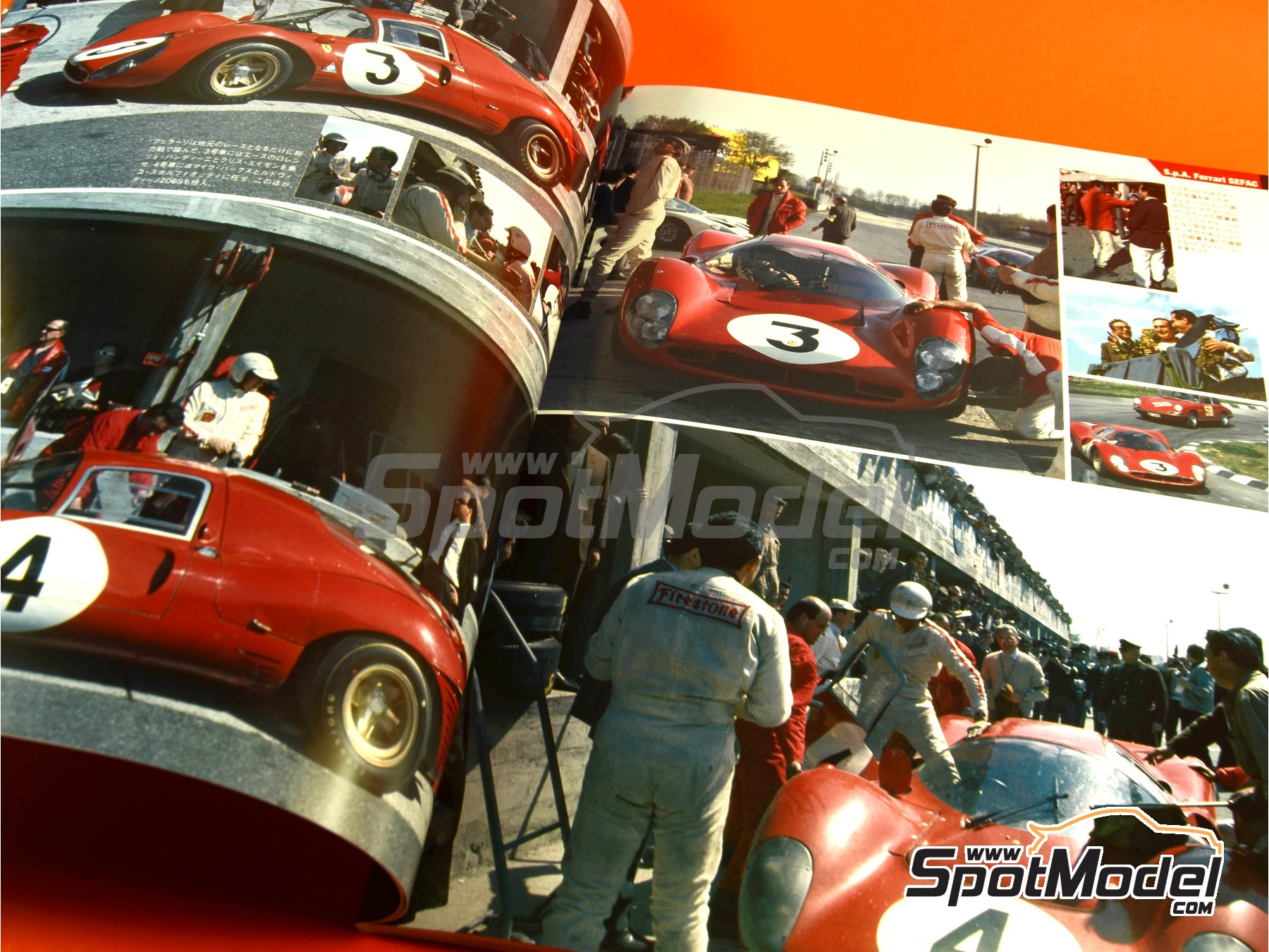 Image 2: JOE HONDA - Sportcar Spectacles - Sport Prototypes - Part 2 - 1000 Kms Monza, 1000 Kms Nürburgring, 1000 Kms SPA, 500 Kms BOAC Sports Race 1967 | Reference / walkaround book manufactured by Model Factory Hiro (ref. MFH-SS009)