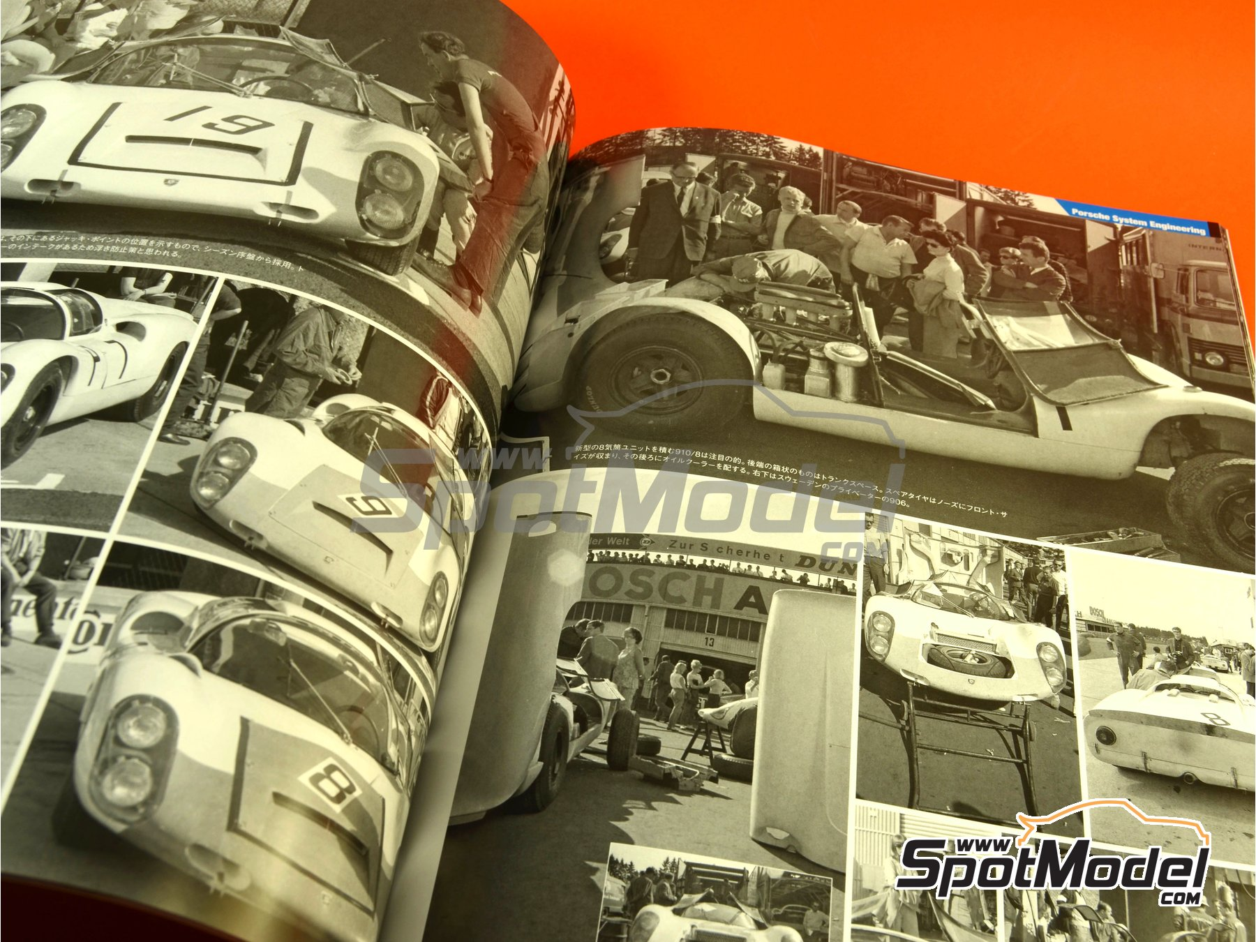 Image 8: JOE HONDA - Sportcar Spectacles - Sport Prototypes - Part 2 - 1000 Kms Monza, 1000 Kms Nürburgring, 1000 Kms SPA, 500 Kms BOAC Sports Race 1967 | Reference / walkaround book manufactured by Model Factory Hiro (ref. MFH-SS009)