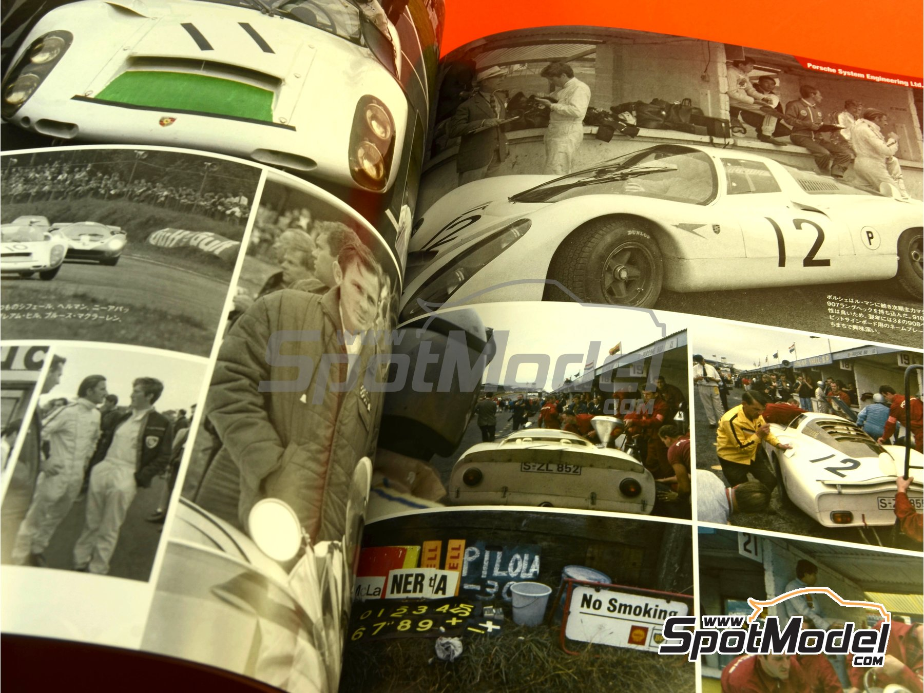 Image 10: JOE HONDA - Sportcar Spectacles - Sport Prototypes - Part 2 - 1000 Kms Monza, 1000 Kms Nürburgring, 1000 Kms SPA, 500 Kms BOAC Sports Race 1967 | Reference / walkaround book manufactured by Model Factory Hiro (ref. MFH-SS009)